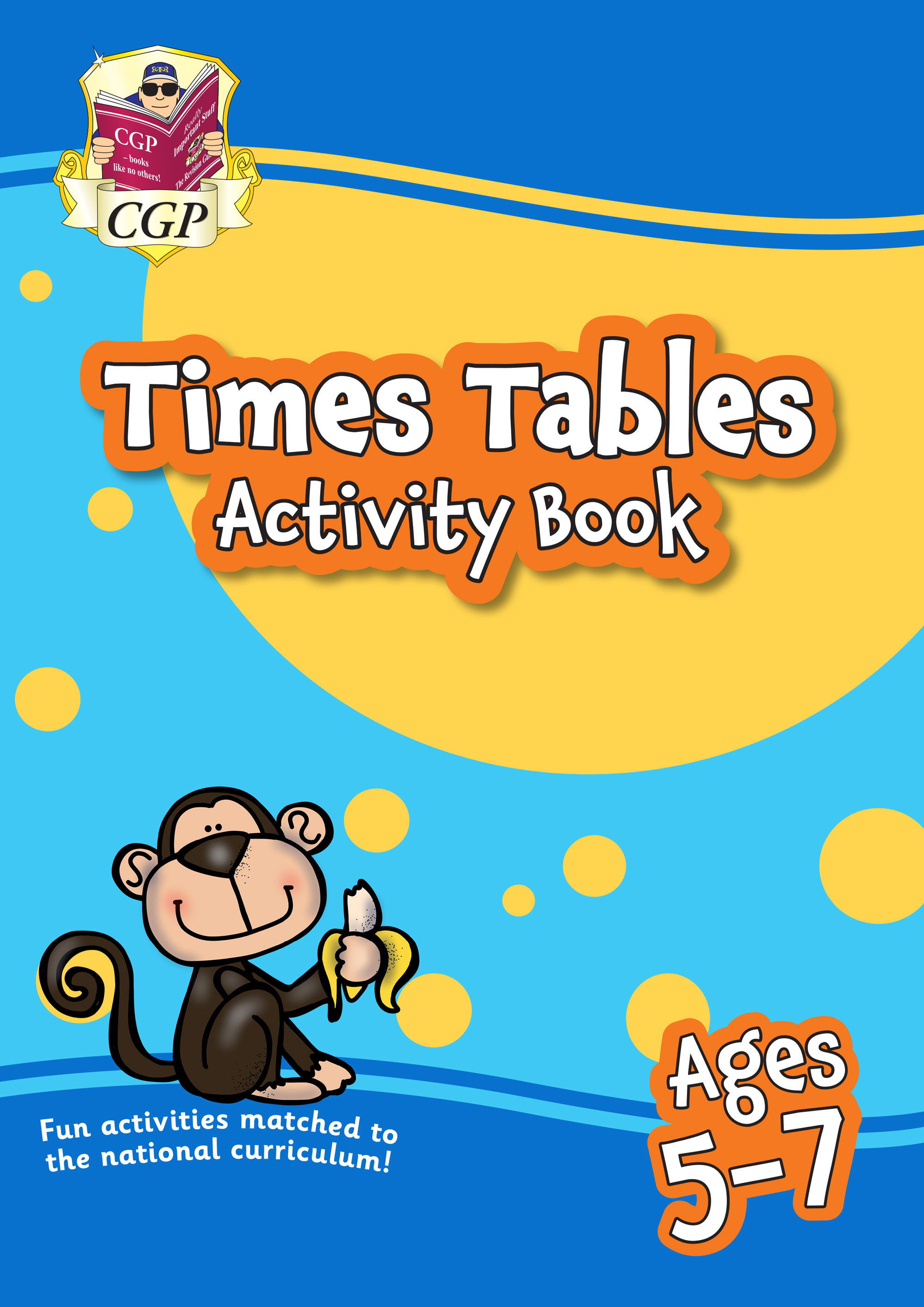 MPFTT11 - New Times Tables Activity Book for Ages 5-7: perfect for back-to-school catch-up