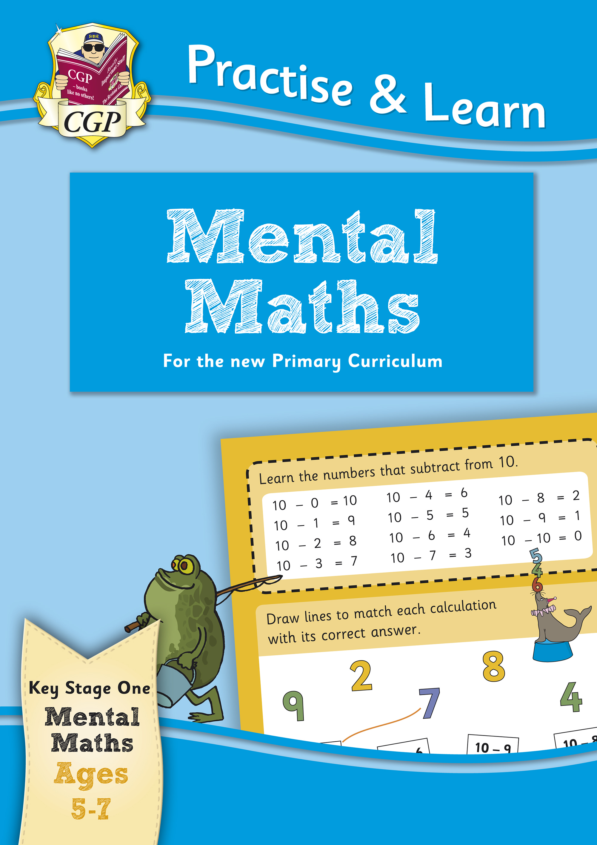 MPMA12 - New Practise & Learn: Mental Maths for Ages 5-7