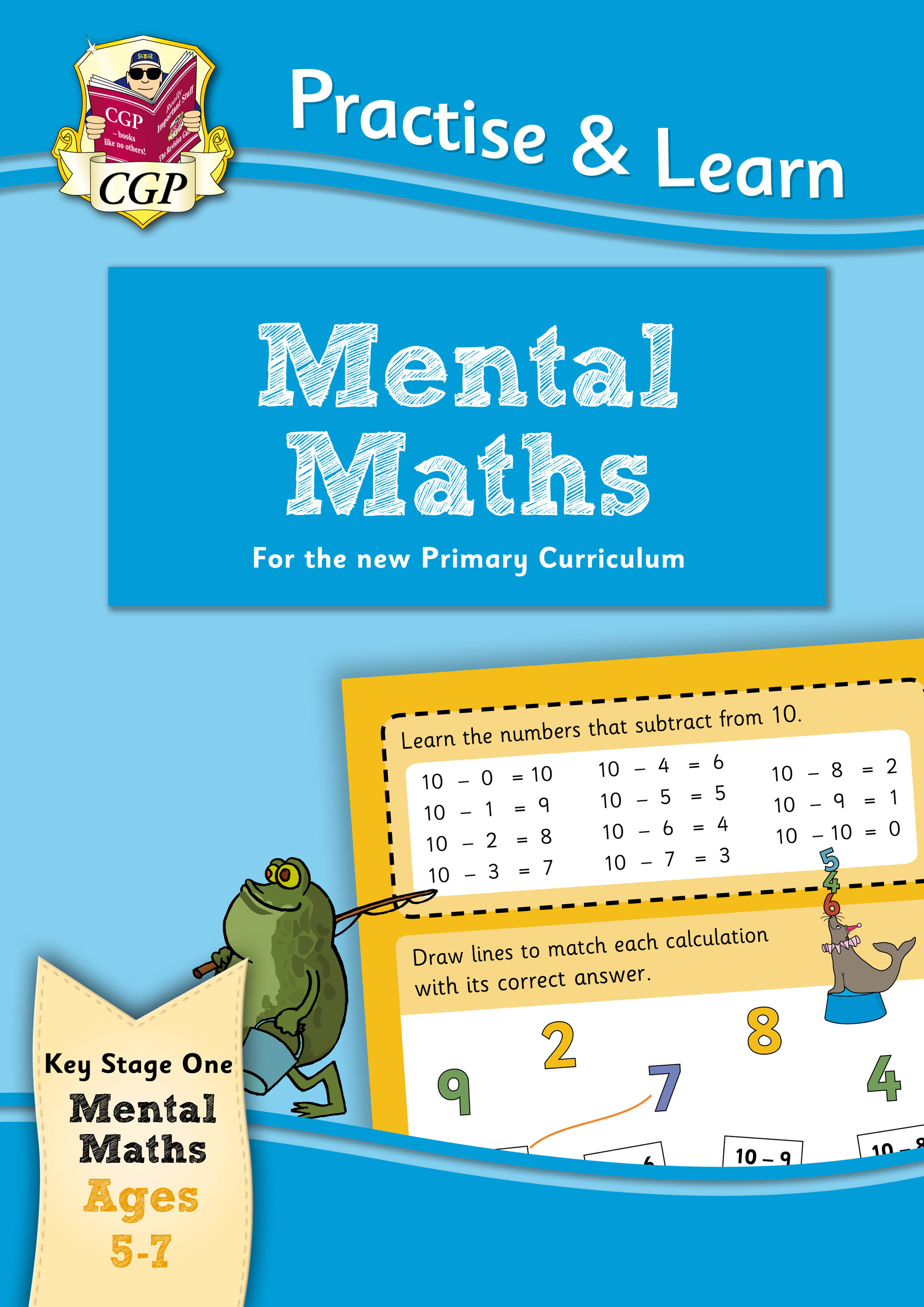 MPMA12DK - New Curriculum Practise & Learn: Mental Maths for Ages 5-7