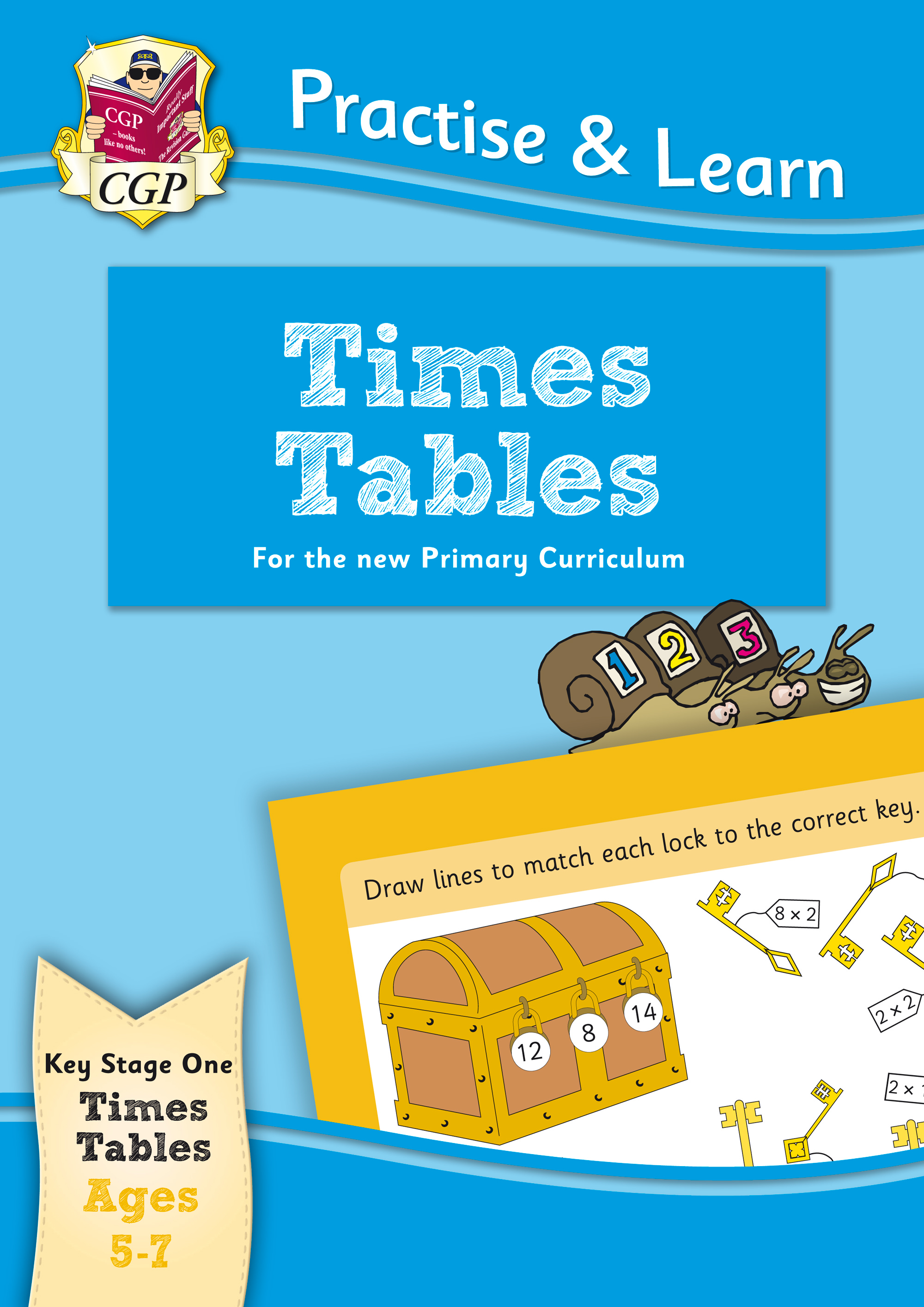 MPTT12 - New Curriculum Practise & Learn: Times Tables for Ages 5-7
