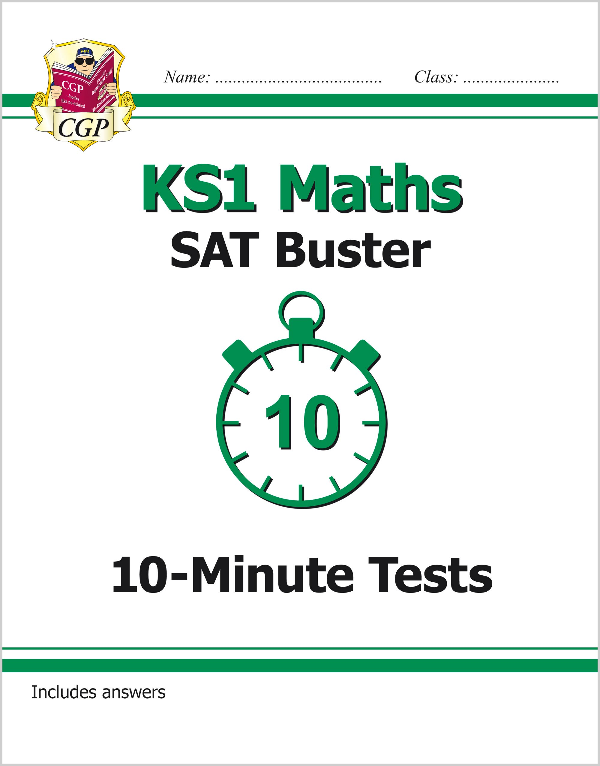 MXP11 - KS1 Maths SAT Buster: 10-Minute Tests