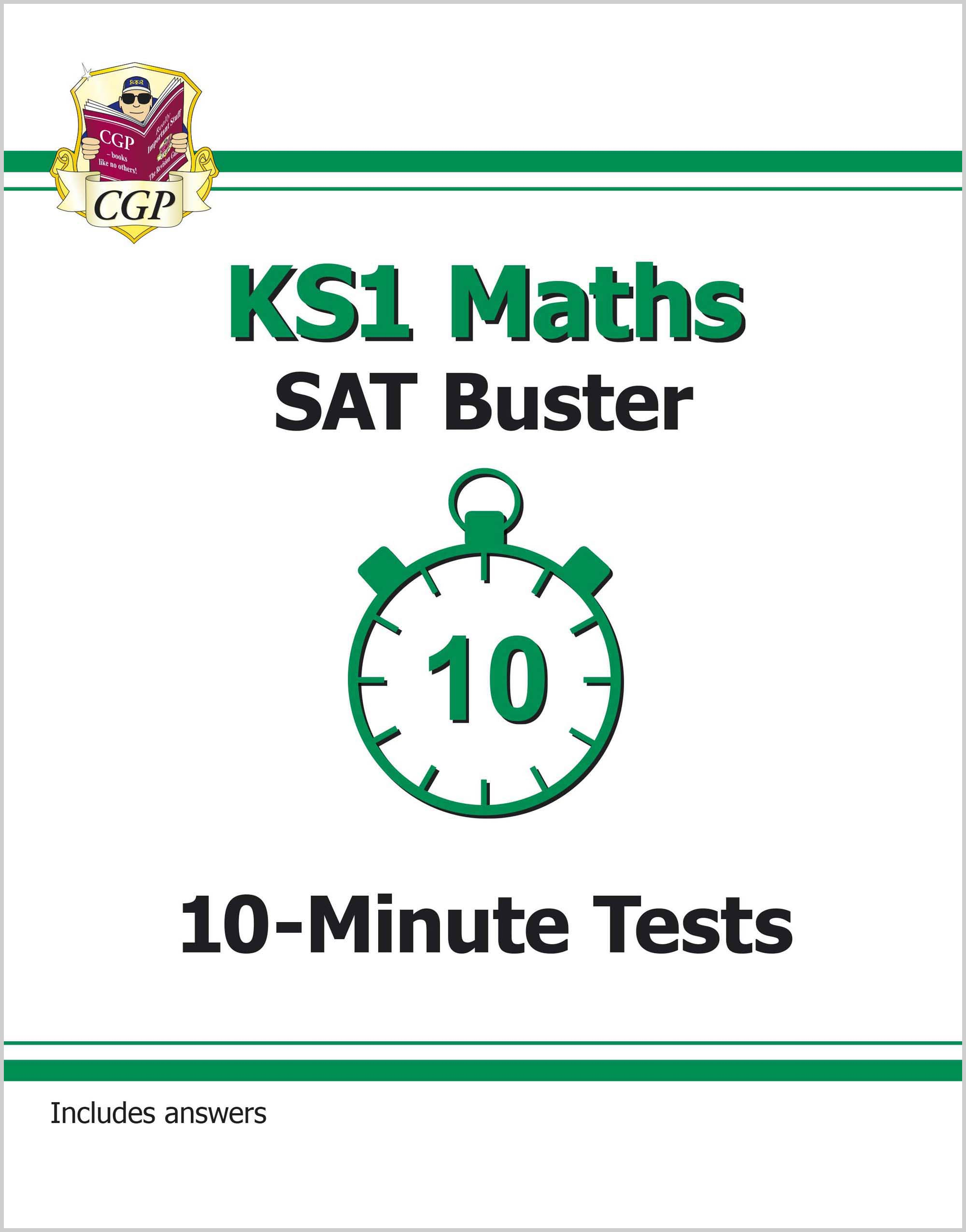 MXP11DK - KS1 Maths SAT Buster: 10-Minute Tests (for the 2021 tests)
