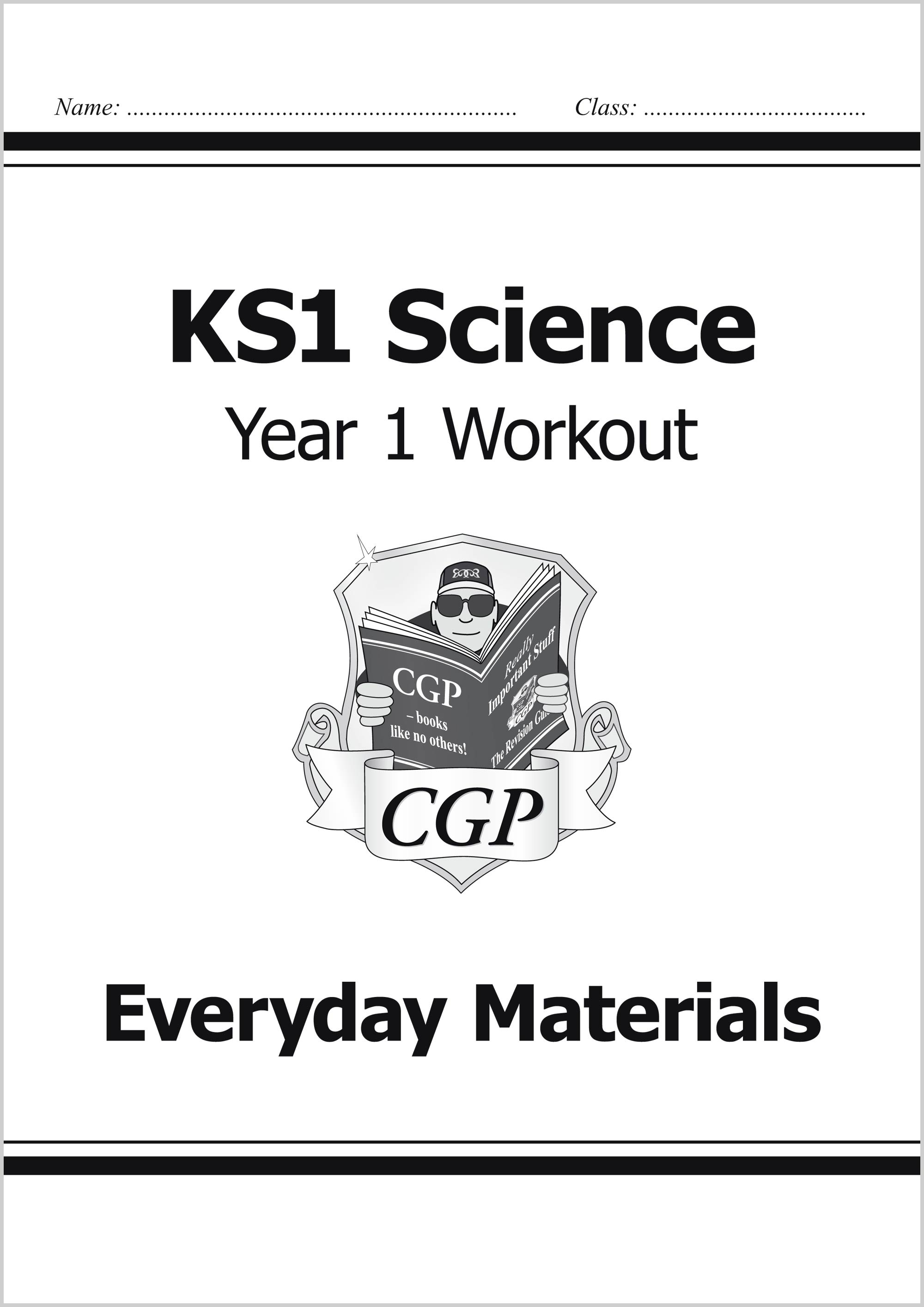S1C11 - KS1 Science Year One Workout: Everyday Materials