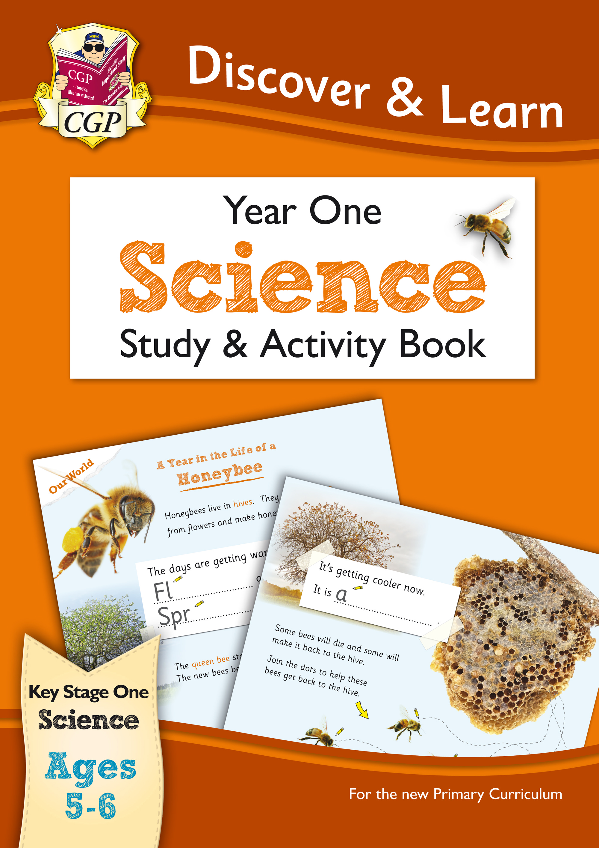 S1W11 - KS1 Discover & Learn: Science - Study & Activity Book, Year 1