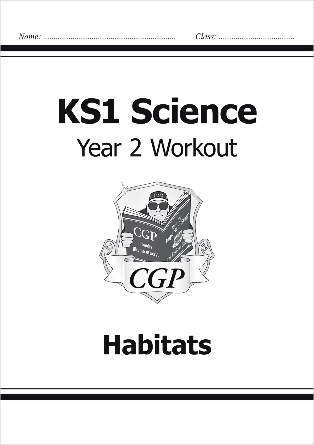 S2A11 - KS1 Science Year Two Workout: Habitats