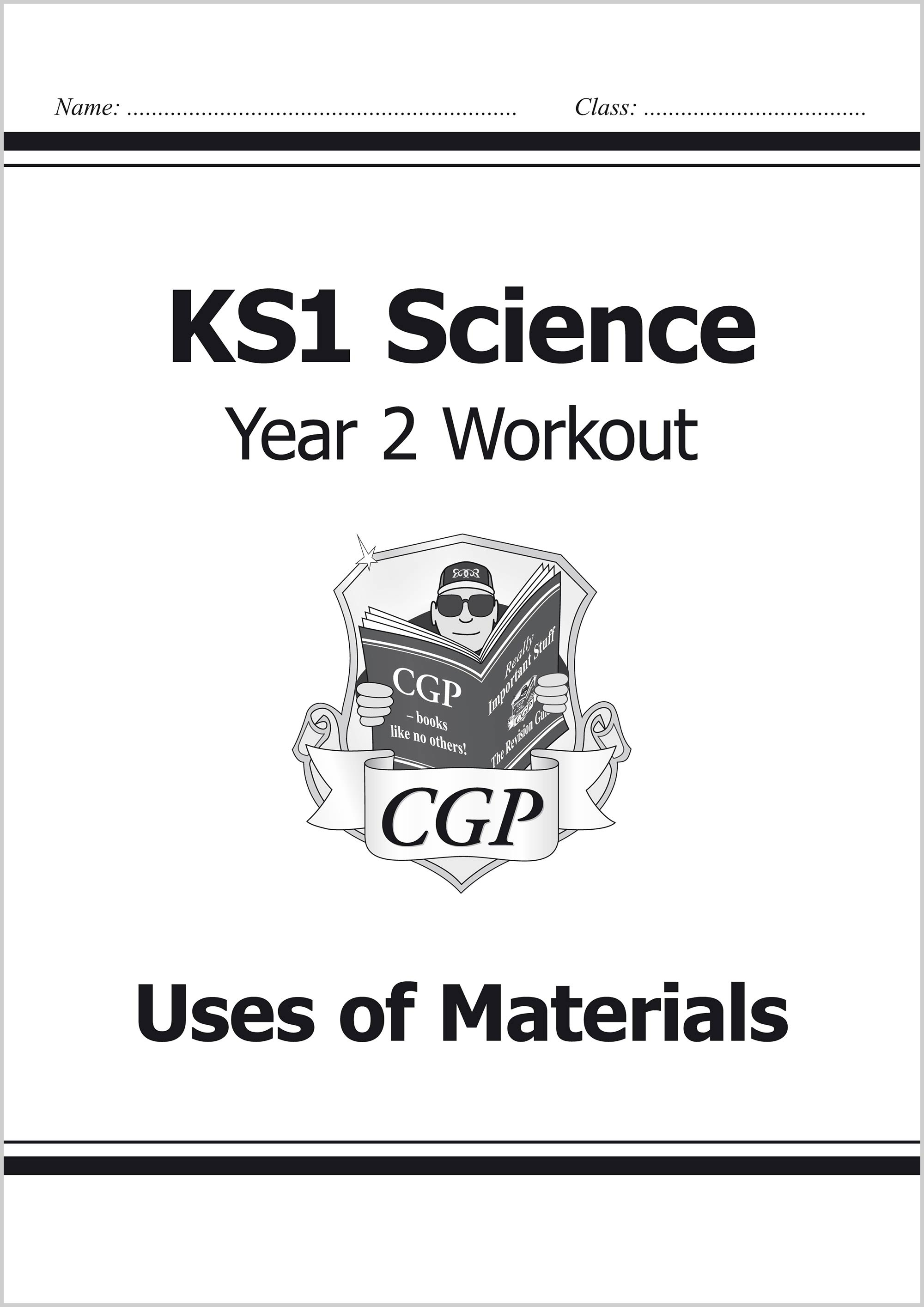 S2D11 - KS1 Science Year Two Workout: Uses of Materials