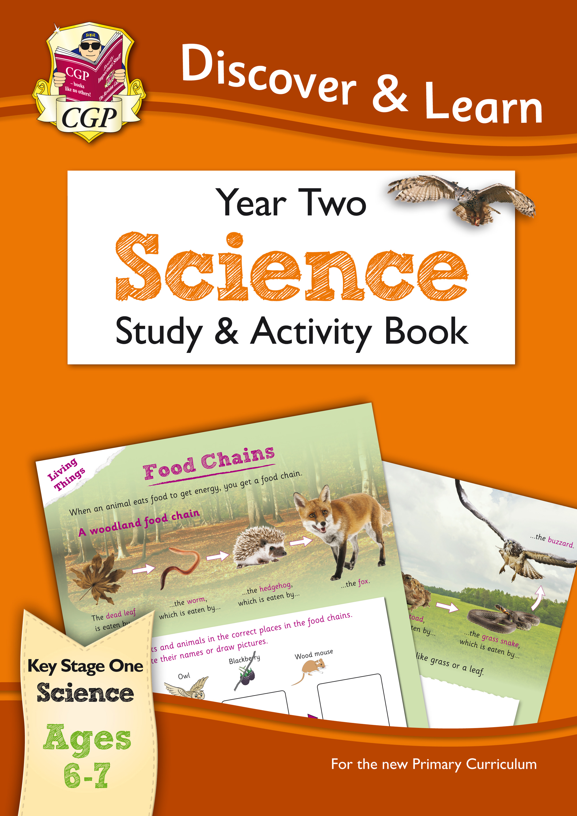 S2W11 - KS1 Discover & Learn: Science - Study & Activity Book, Year 2