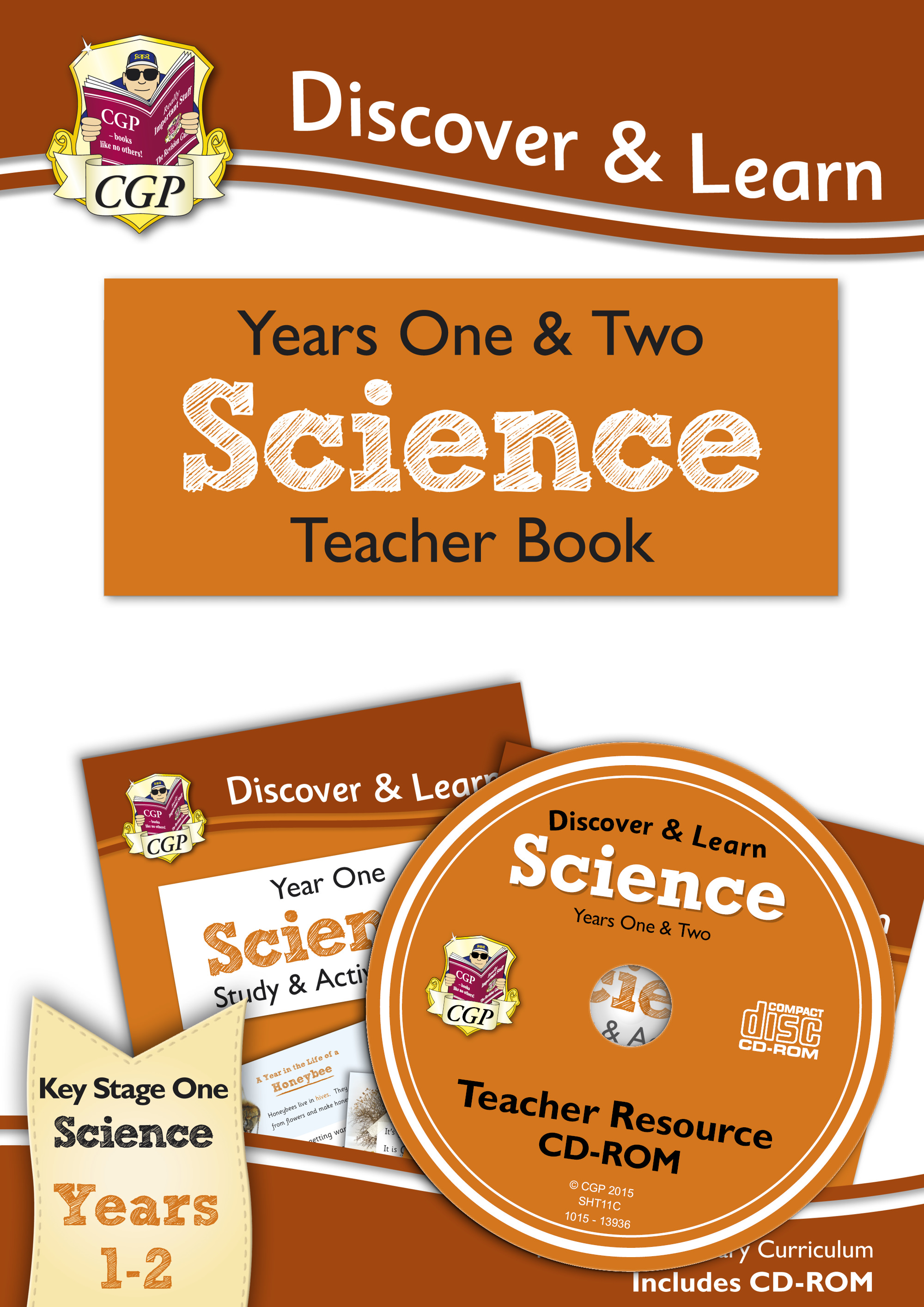 SHT11 - KS1 Discover & Learn: Science - Teacher Book for Year 1 & 2 (Includes CD-ROM)