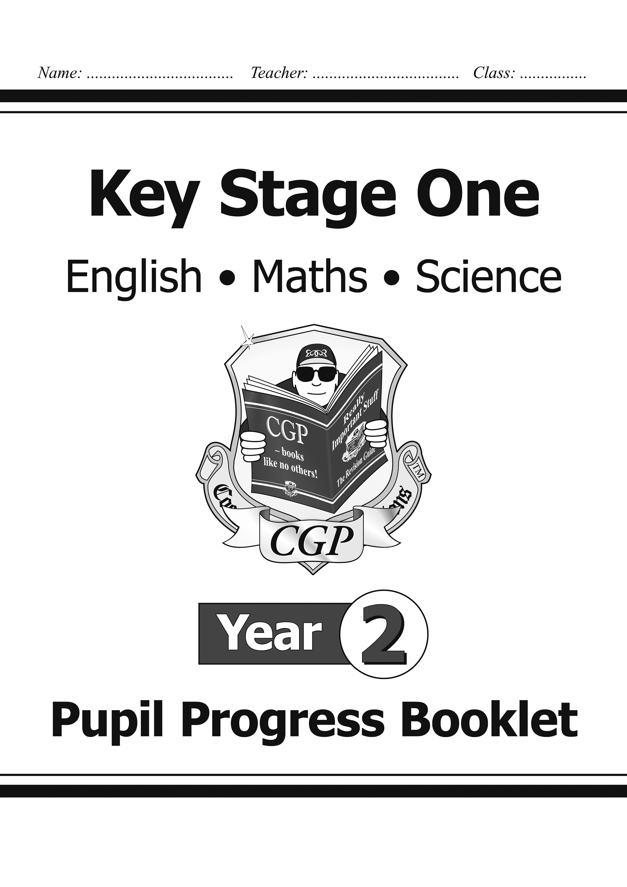 SME2P11 - KS1 Pupil Progress Booklet for English, Maths and Science - Year 2
