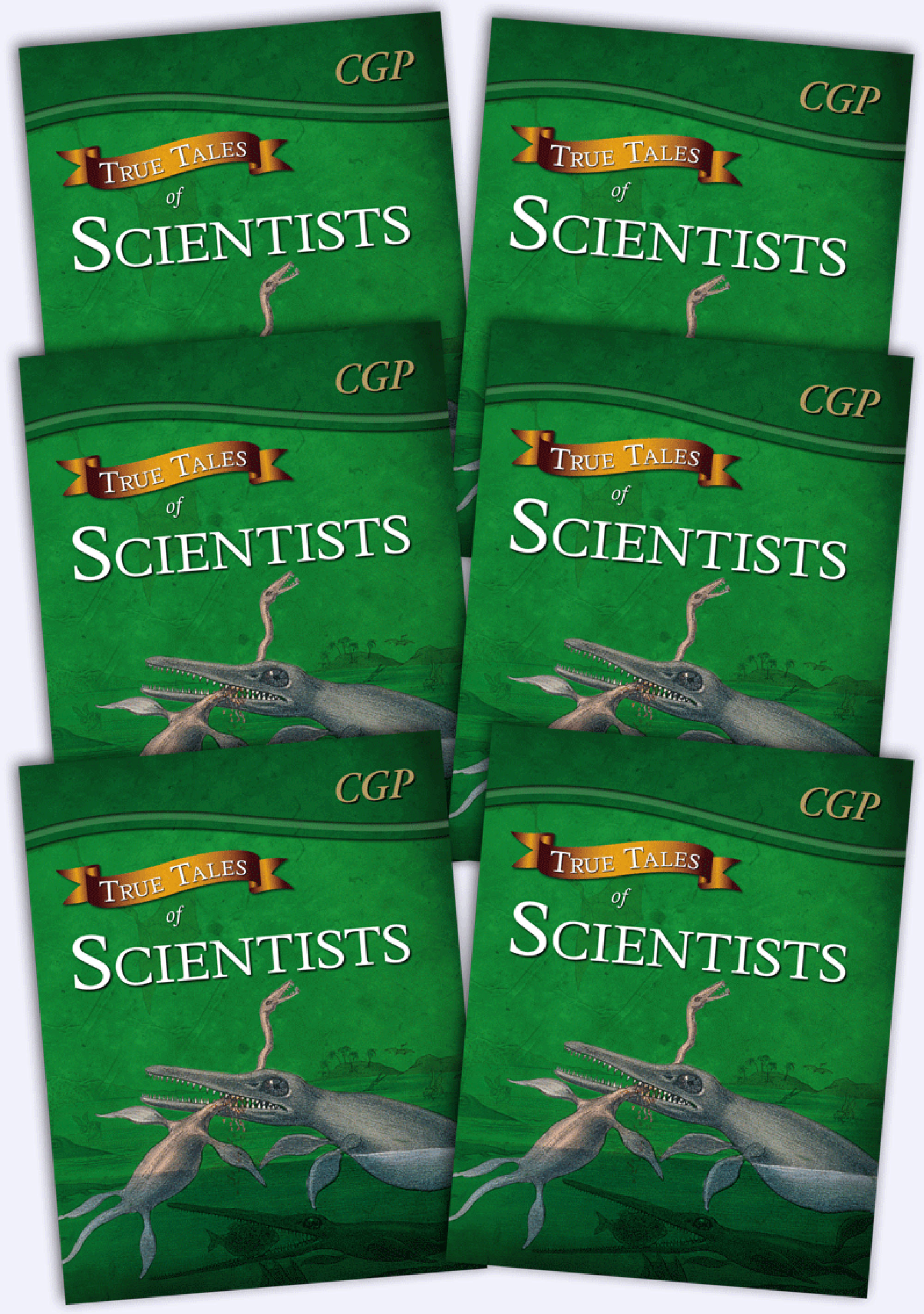 6ASR21 - True Tales of Scientists Bundle: 6 x Reading Book