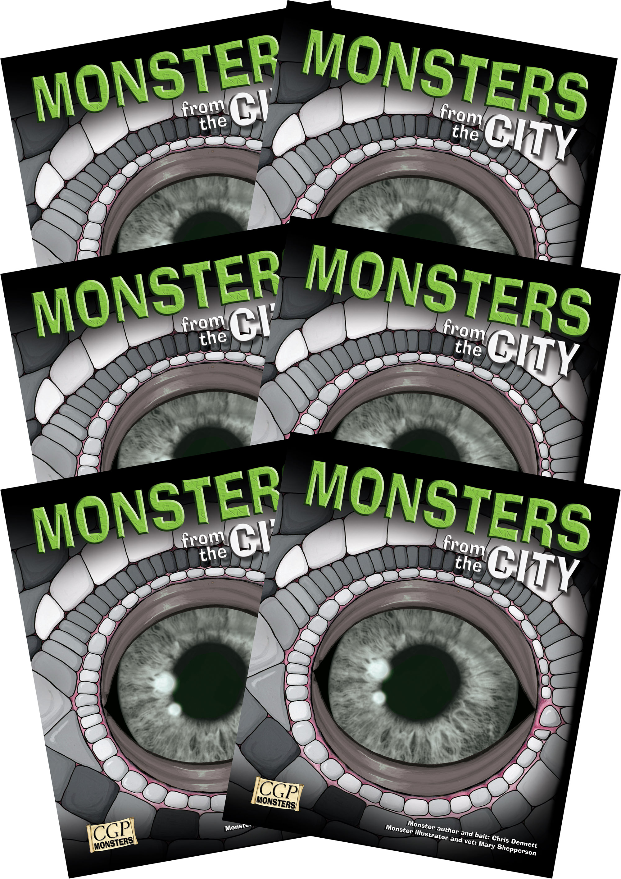 6RCIM2 - 6 x KS2 Monsters from the City Reading Pack