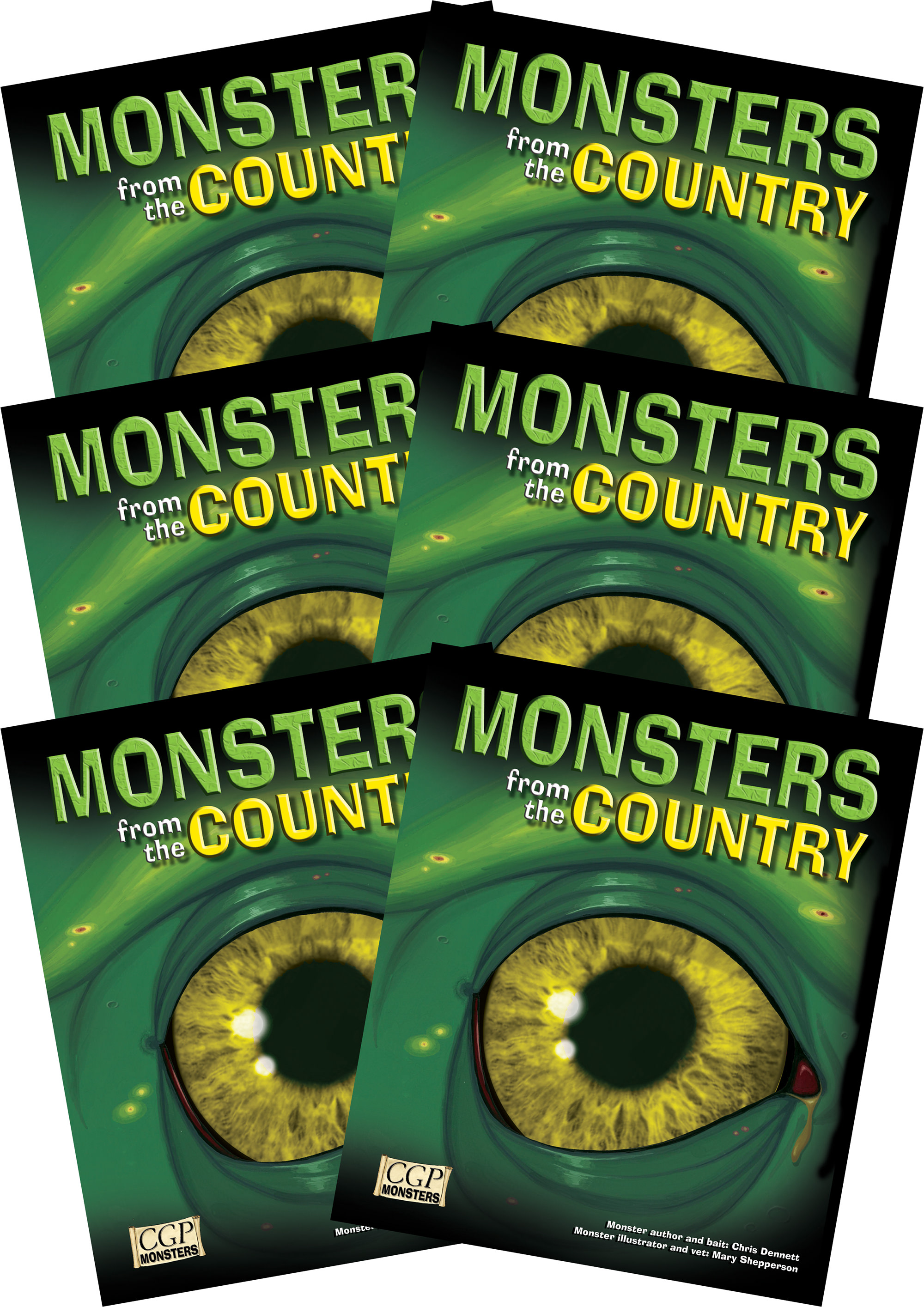6RCOM2 - 6 x KS2 Monsters from the Country Reading Pack