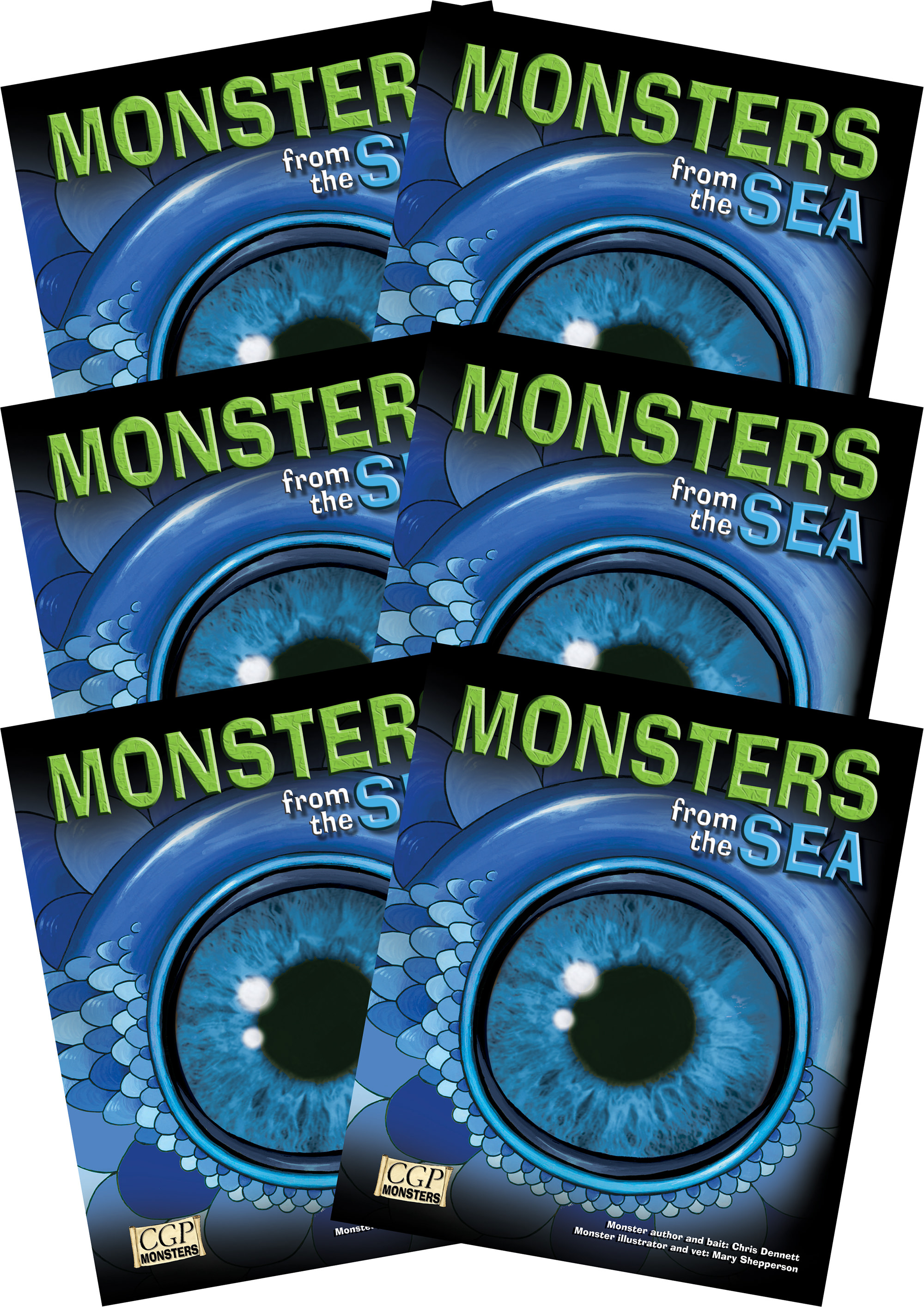 6RSEM2 - 6 x KS2 Monsters from the Sea Reading Pack