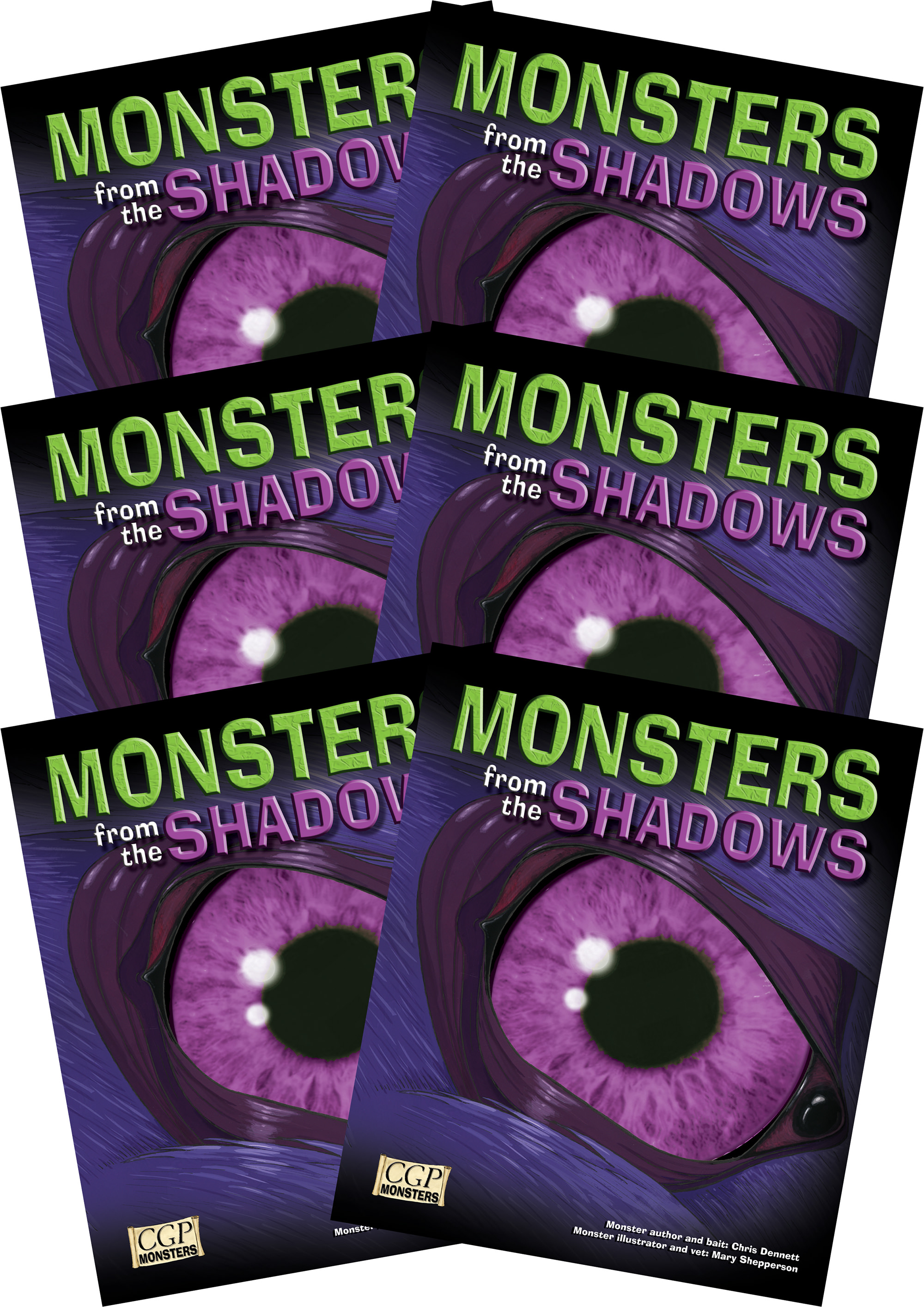 6RSHM2 - 6 x KS2 Monsters from the Shadows Reading Pack