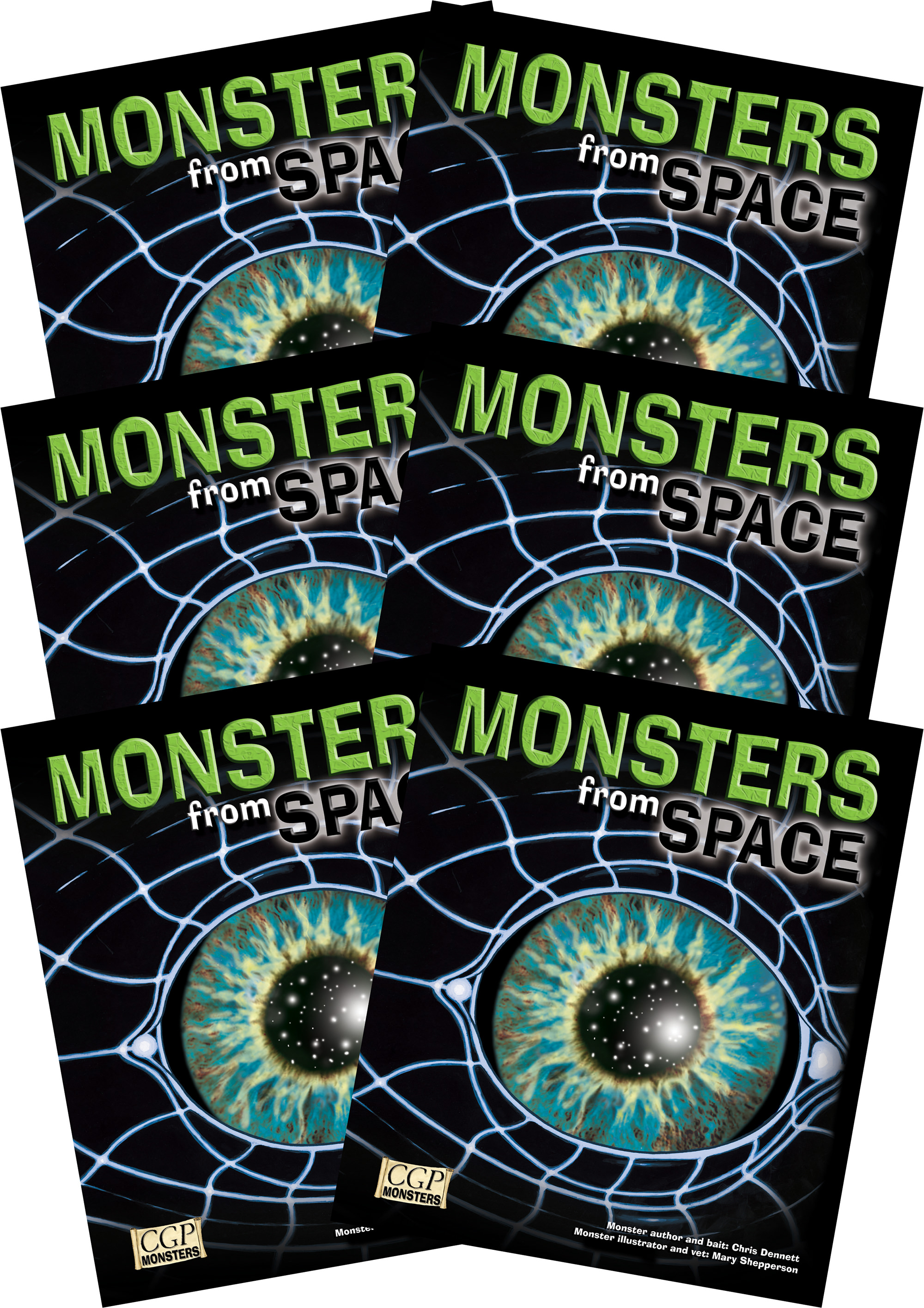 6RSPM2 - 6 x KS2 Monsters from Space Reading Pack