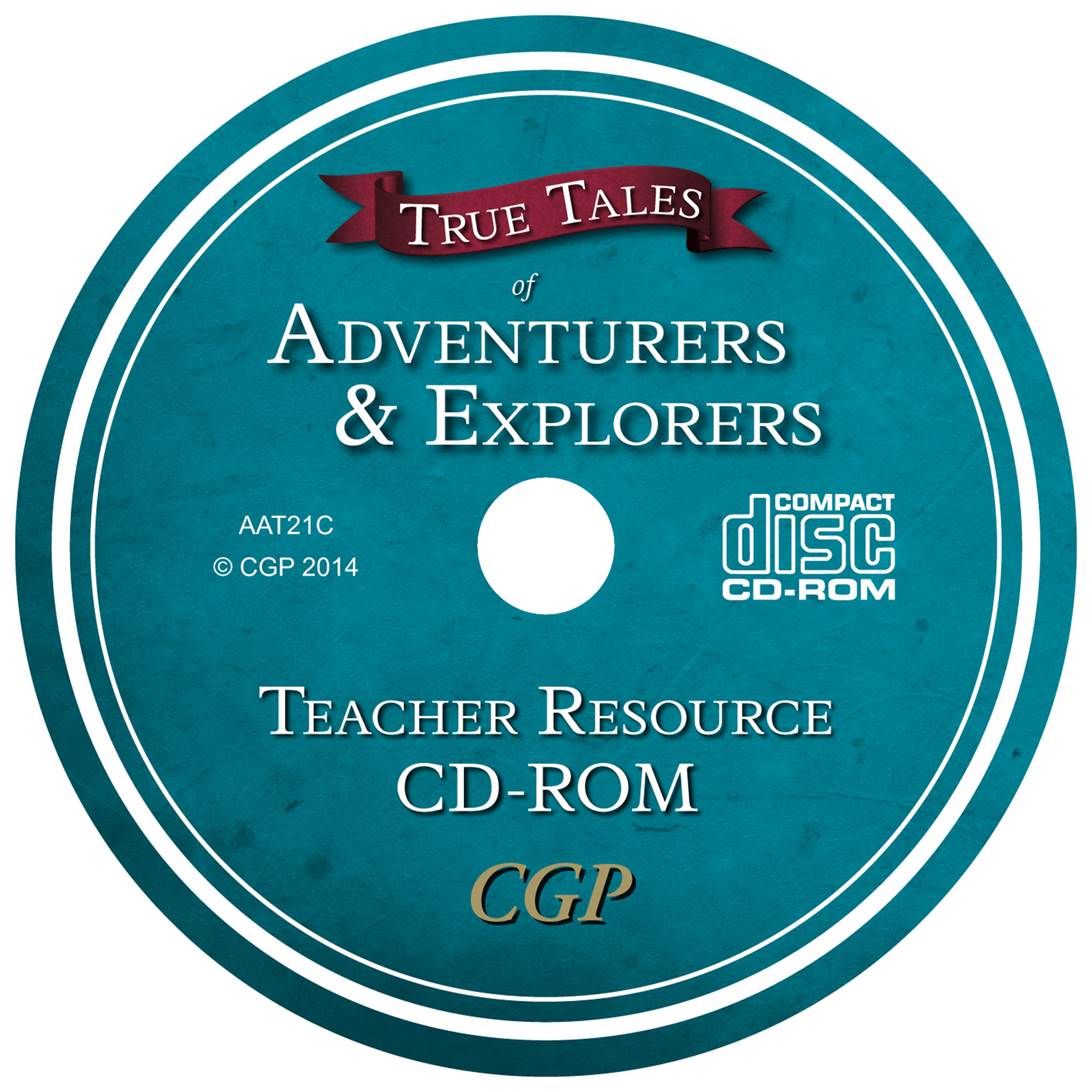 AAT21C - UNMADE CD True Tales - Adventurers Teacher CD
