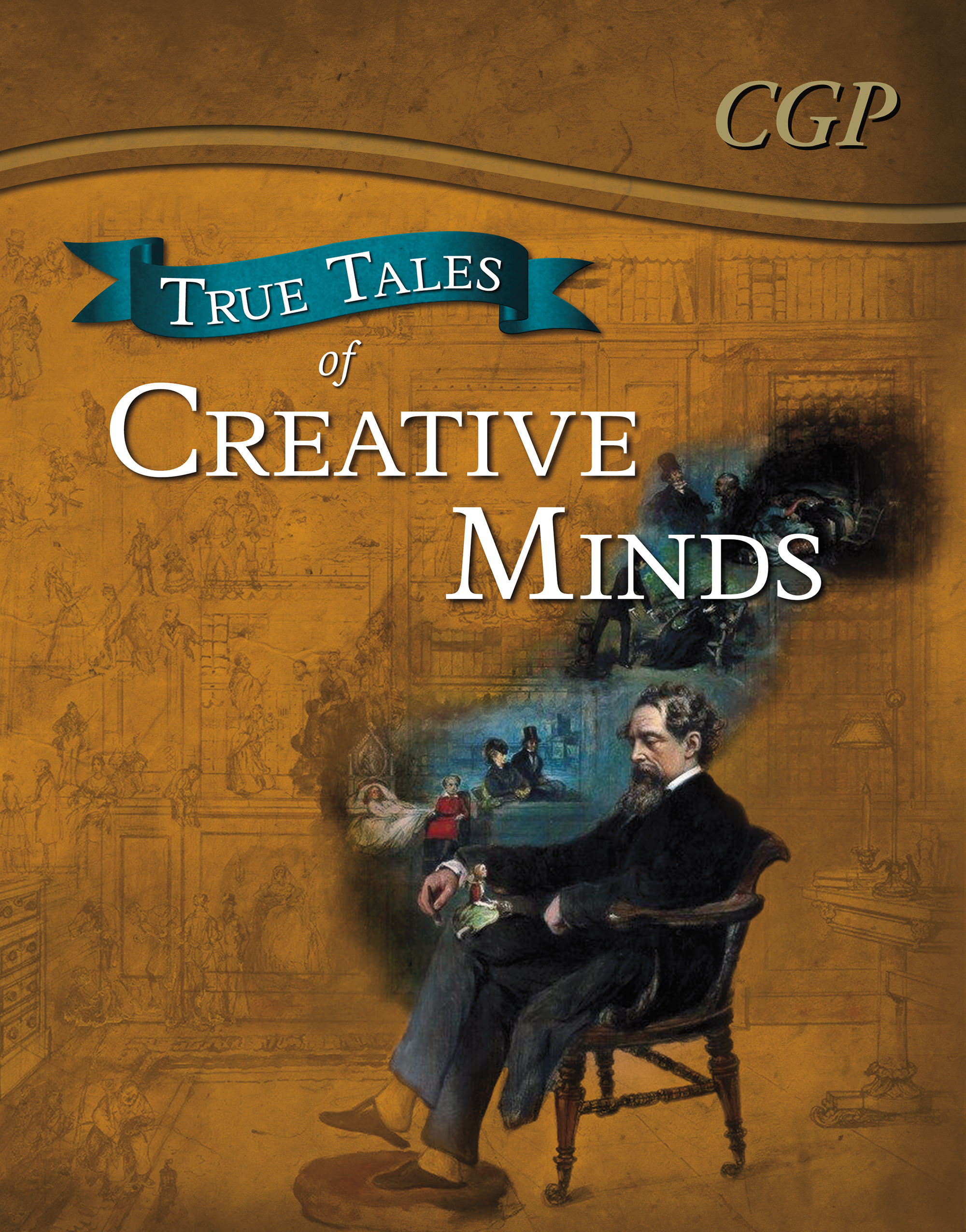 ACR21 - True Tales of Creative Minds — Reading Book: Da Vinci, Mozart, Dickens & Zephaniah