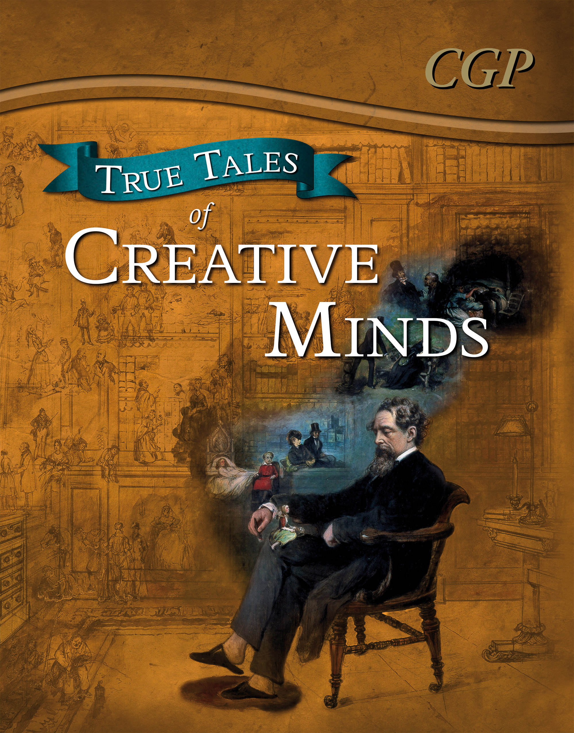 ACR21DK - True Tales of Creative Minds — Reading Book: Da Vinci, Mozart, Dickens & Zephaniah