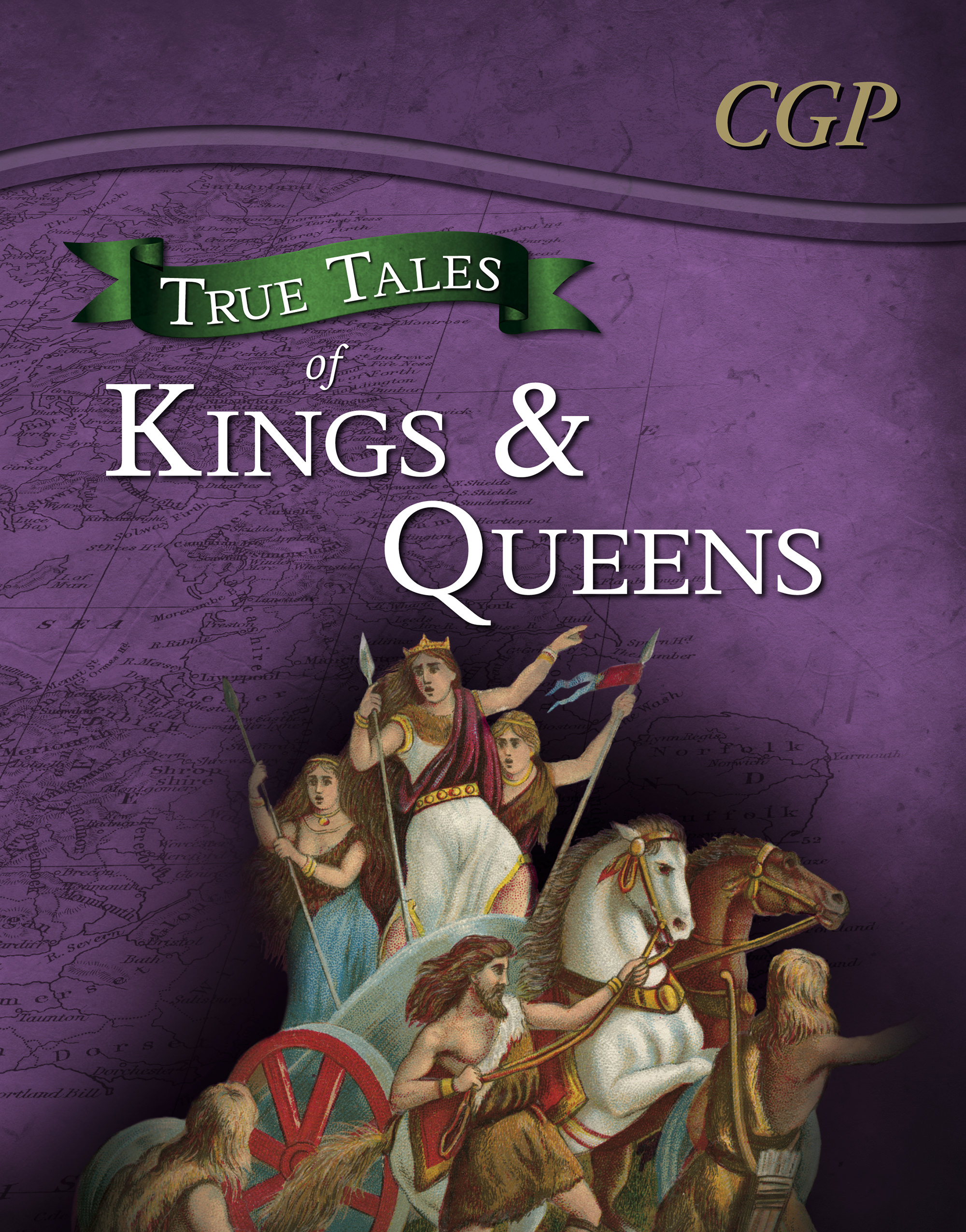 AHR21 - True Tales of Kings & Queens — Reading Book: Boudica, Alfred the Great, King John & Queen Vi