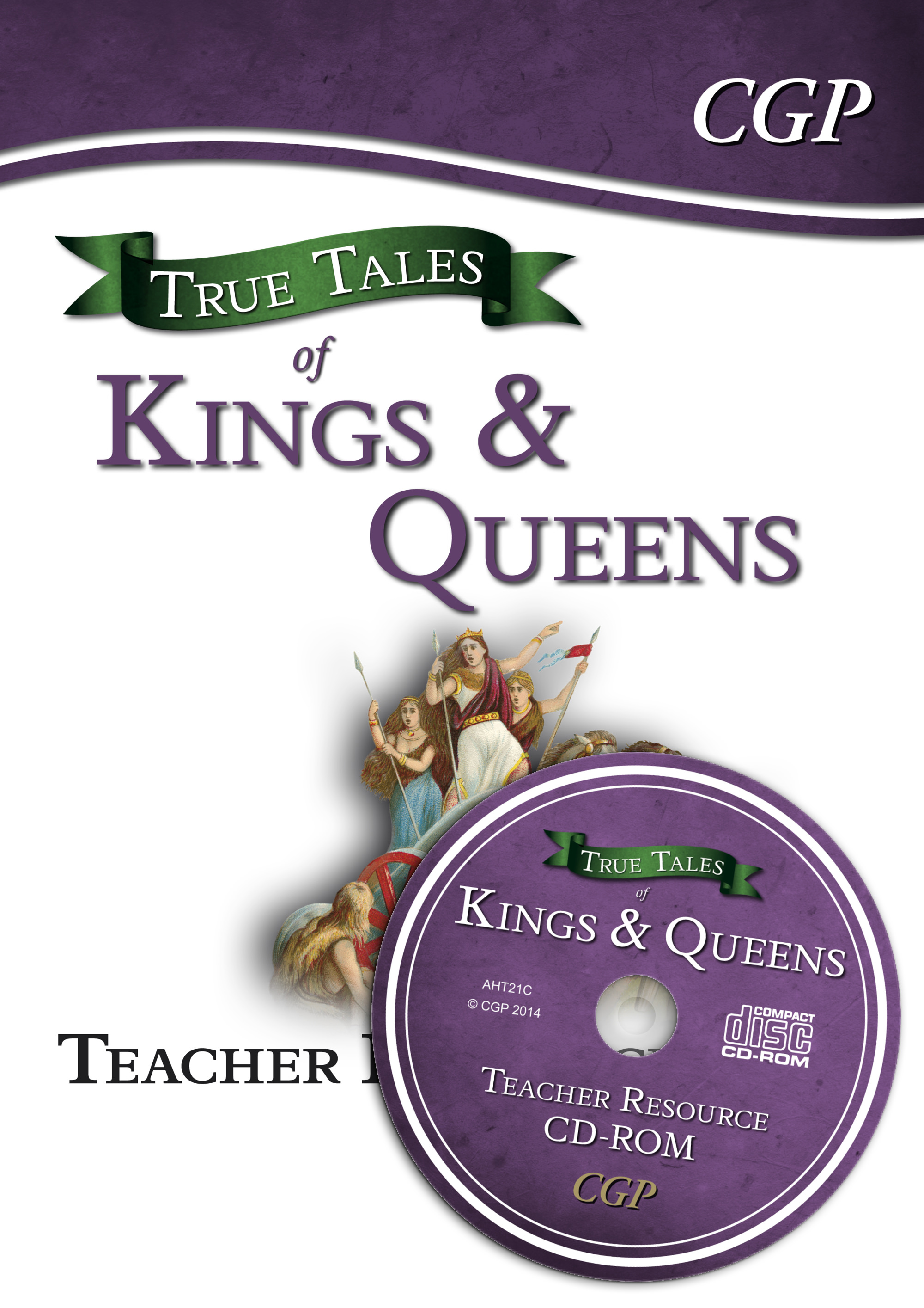 AHT21 - True Tales of Kings & Queens — Guided Reading Teacher Resource Pack