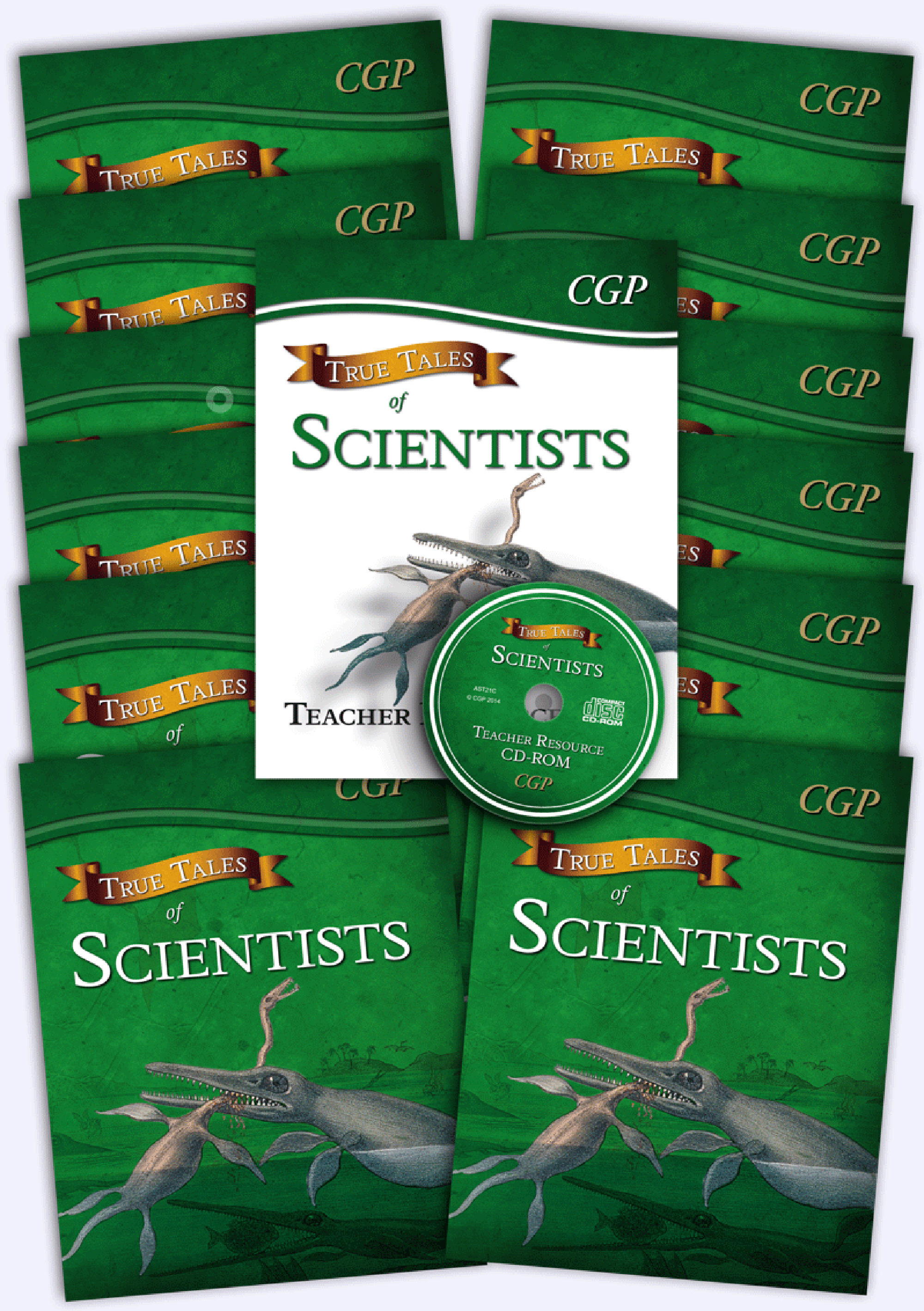 ASB21 - True Tales of Scientists Big Bundle: 12 x Reading Book & Matching Teacher Resource Pack