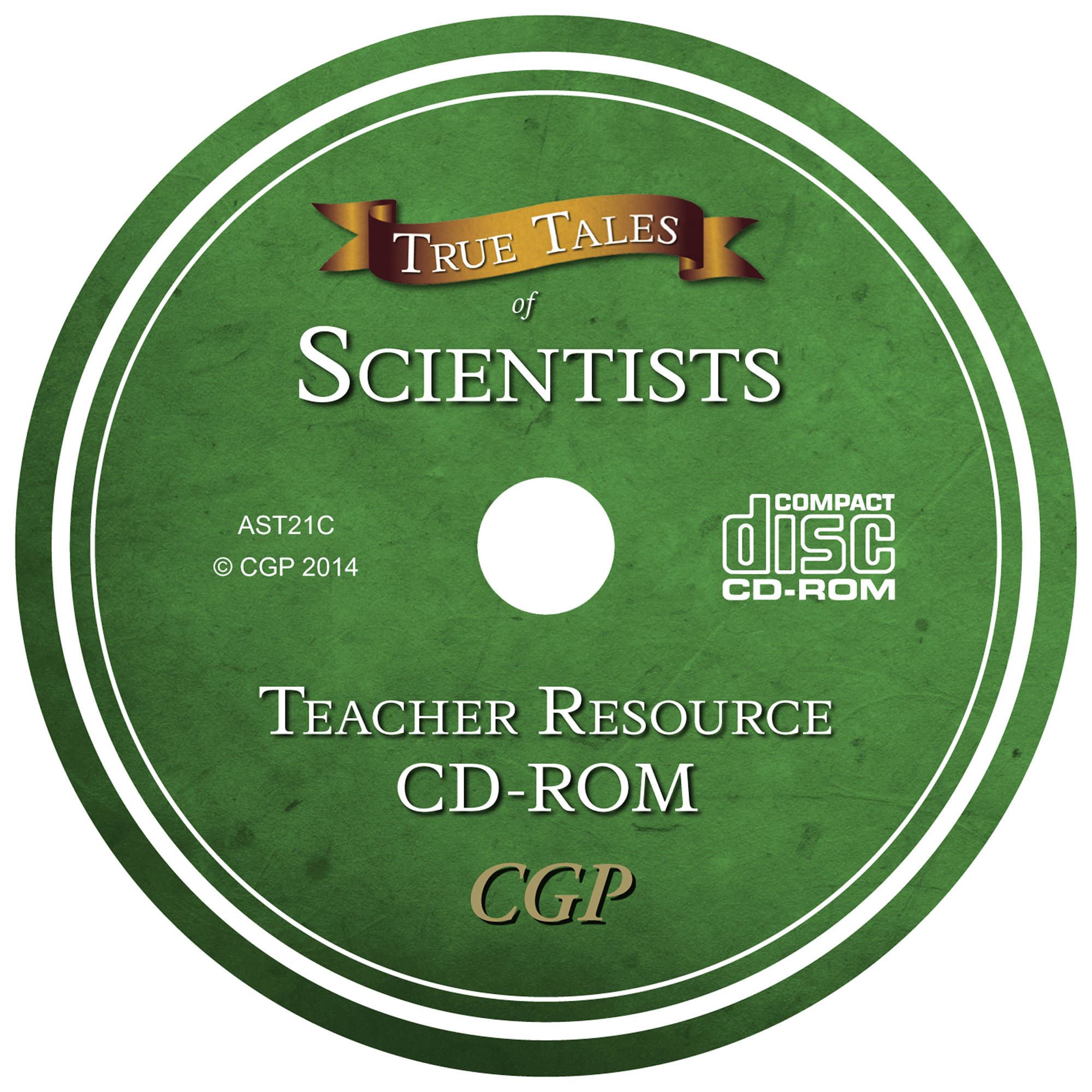 AST21C - UNMADE CD True Tales - Scientists Teacher CD