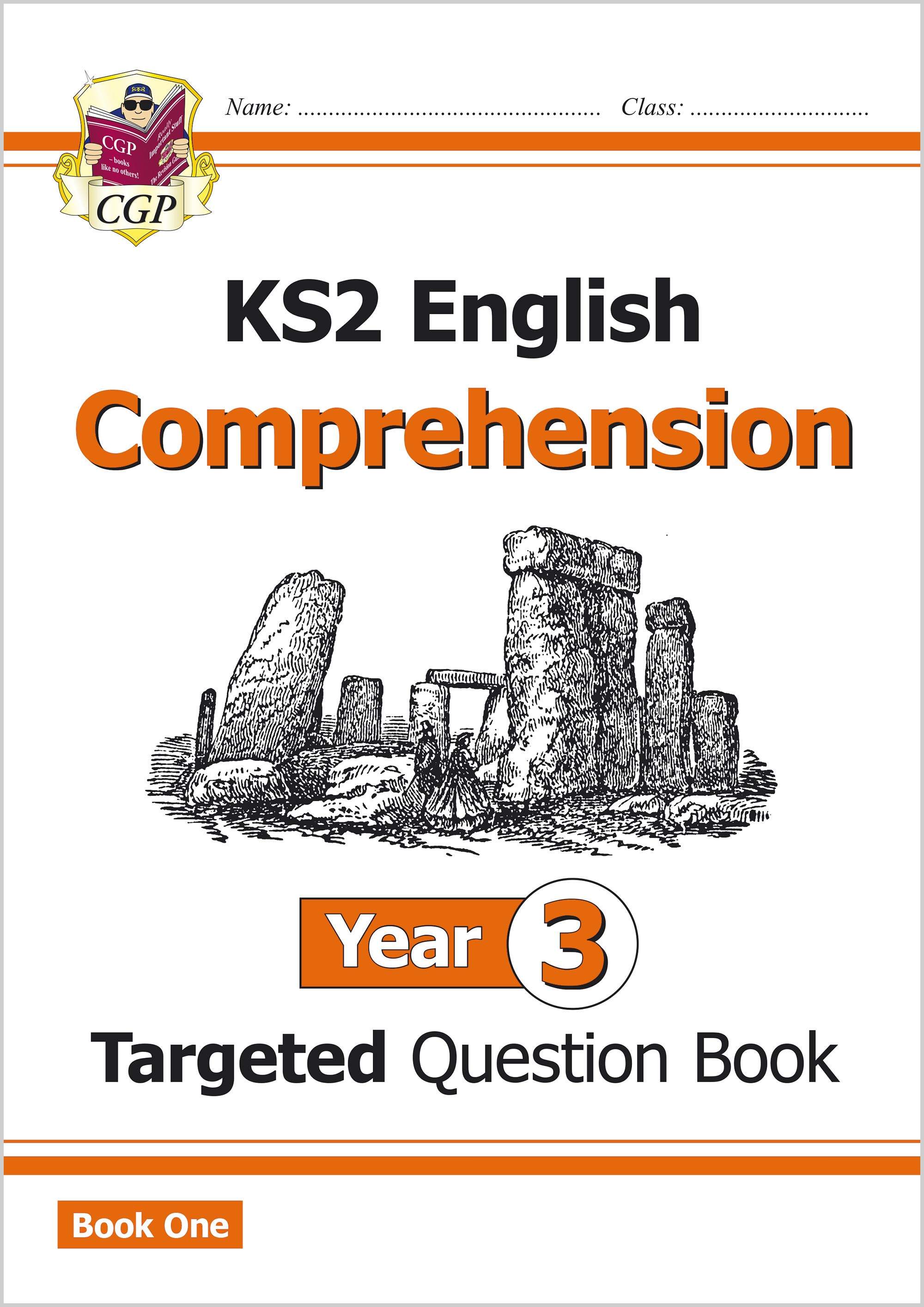 E3CW21 - New KS2 English Targeted Question Book: Year 3 Comprehension - Book 1