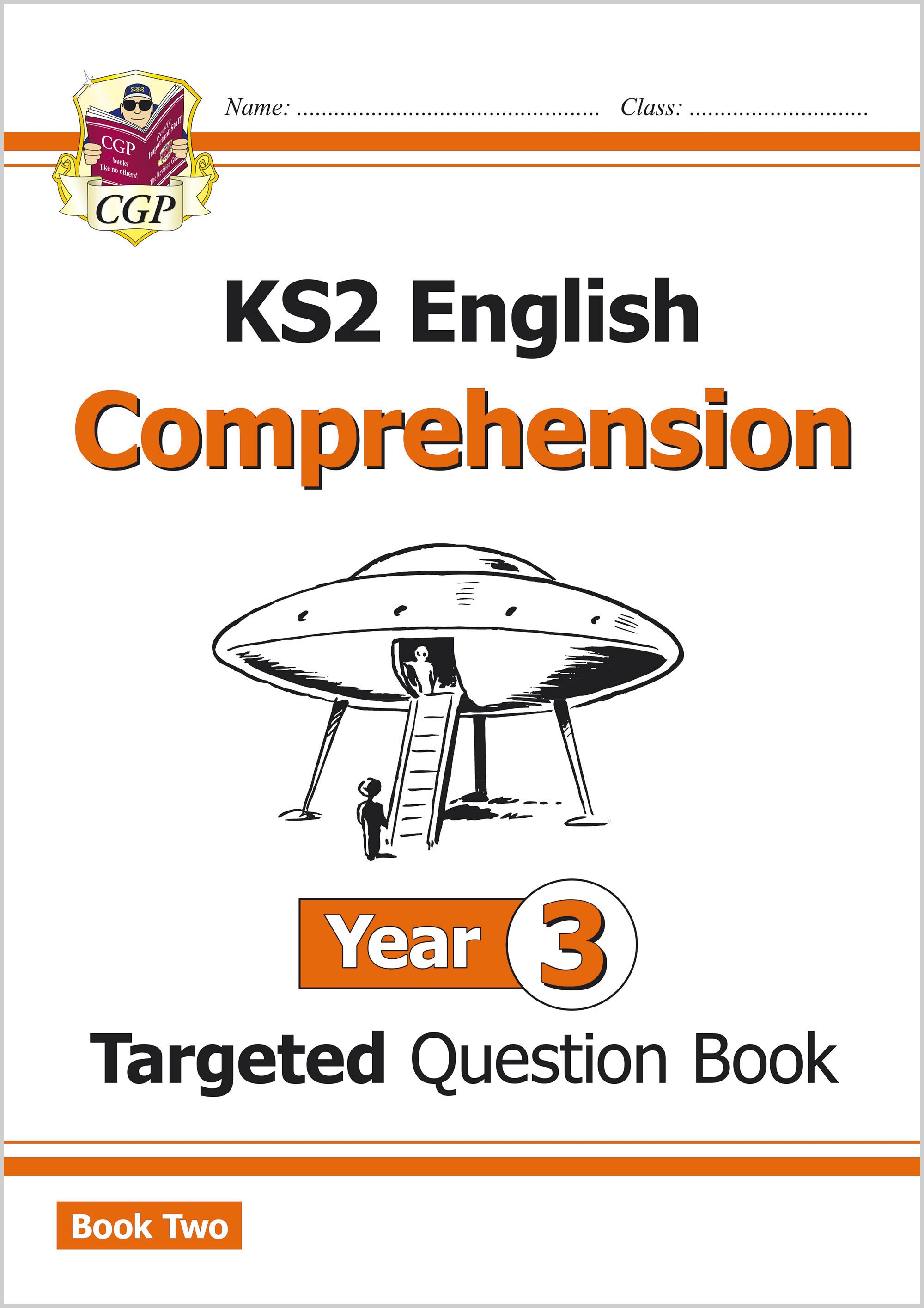 E3CW221 - KS2 English Targeted Question Book: Year 3 Comprehension - Book 2