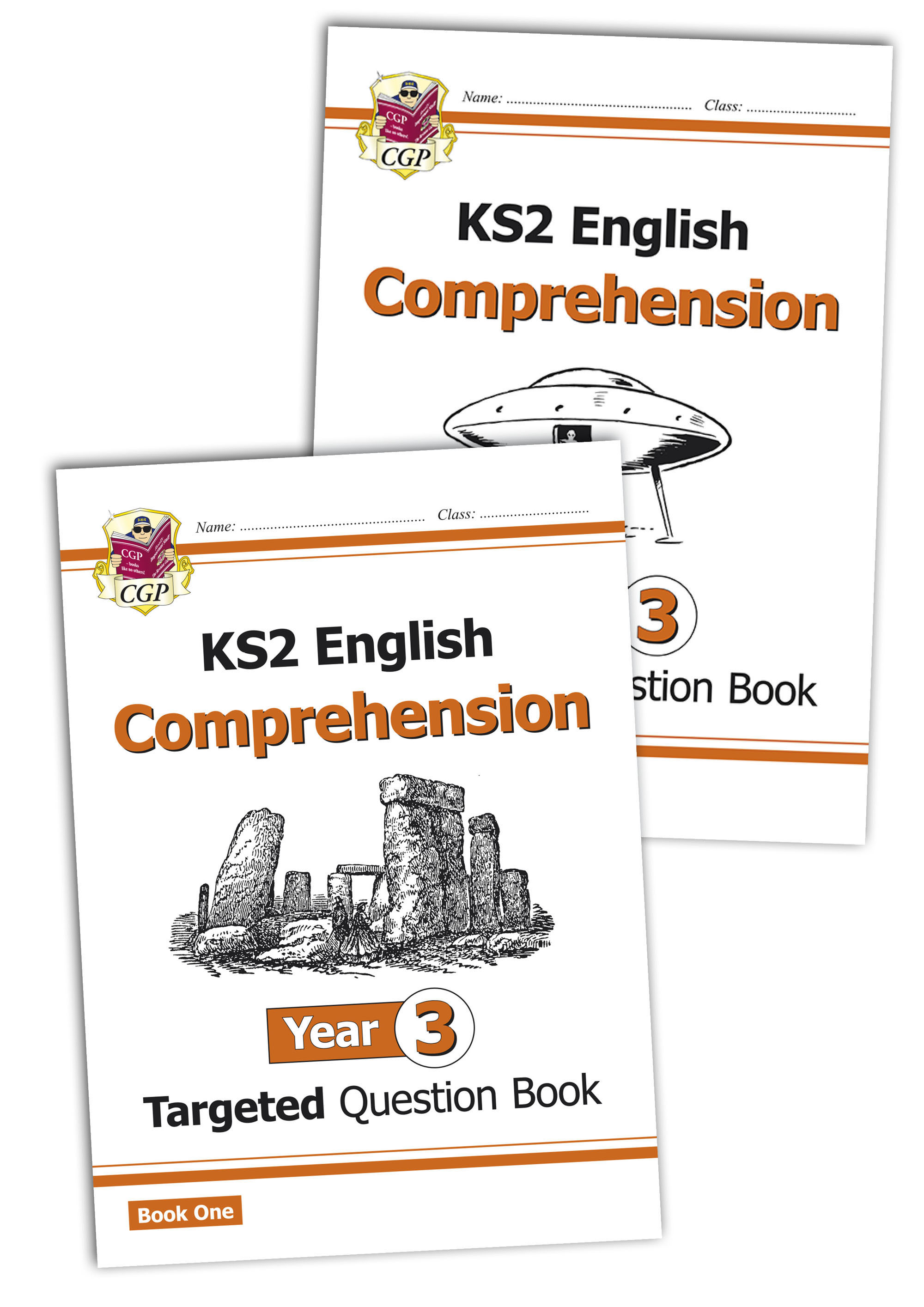 E3CWB21 - KS2 English Targeted Question Book: Year 3 Comprehension - Book 1 & 2 Bundle
