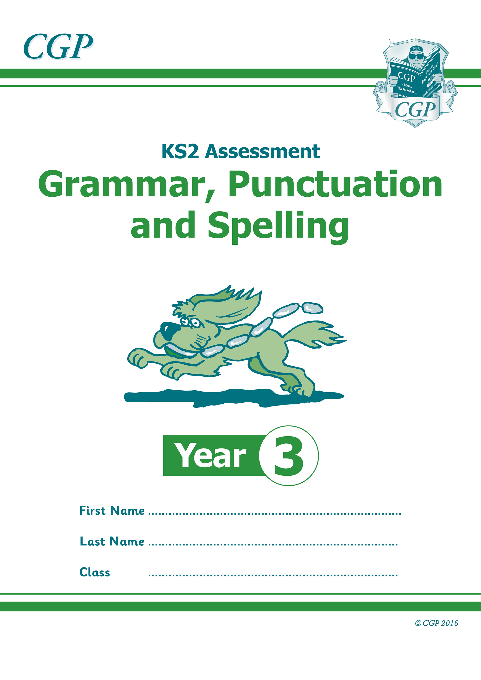 E3GP21 - KS2 Assessment: Spelling, Punctuation & Grammar - Year 3 Test