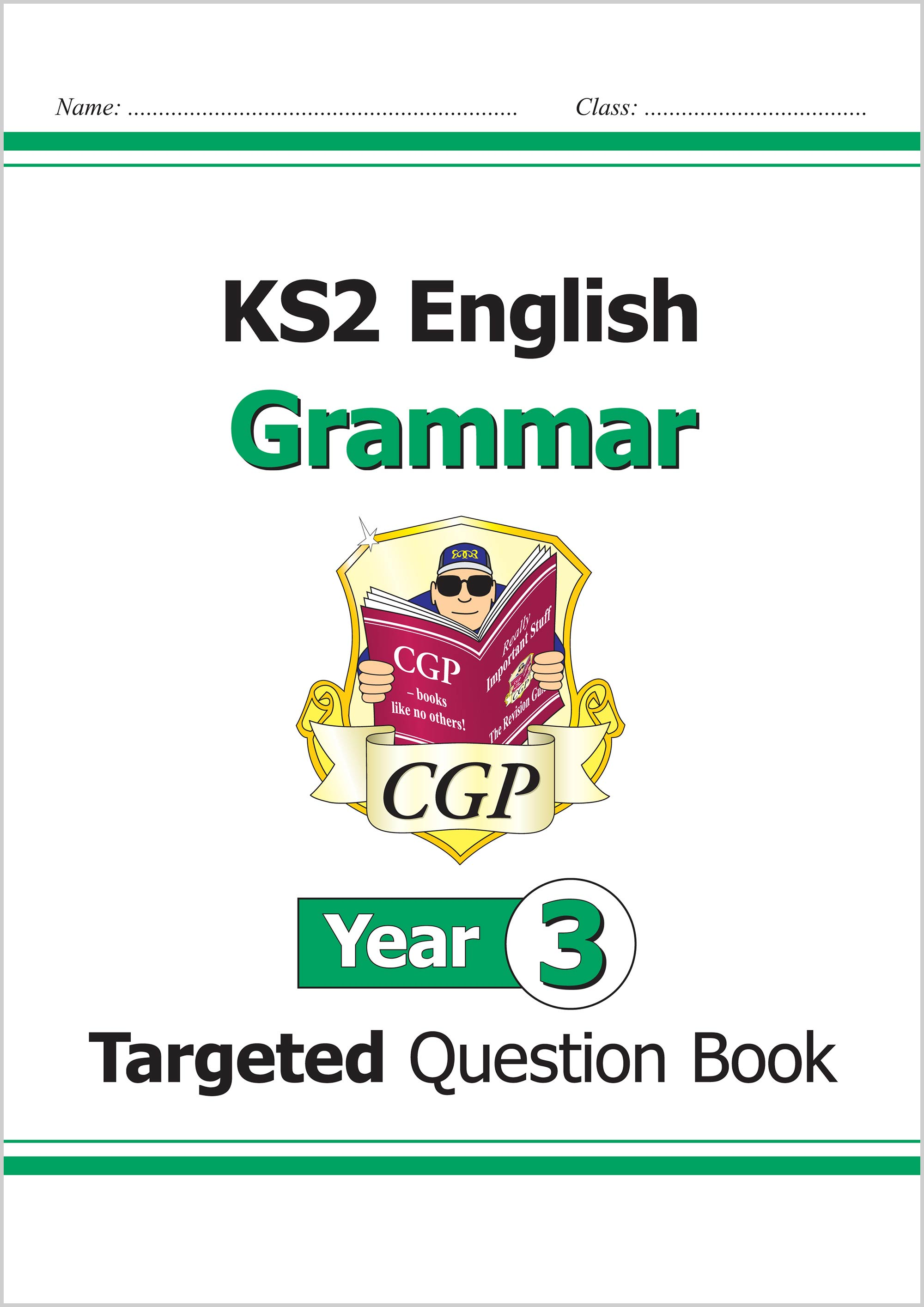 E3GW21 - KS2 English Targeted Question Book: Grammar - Year 3