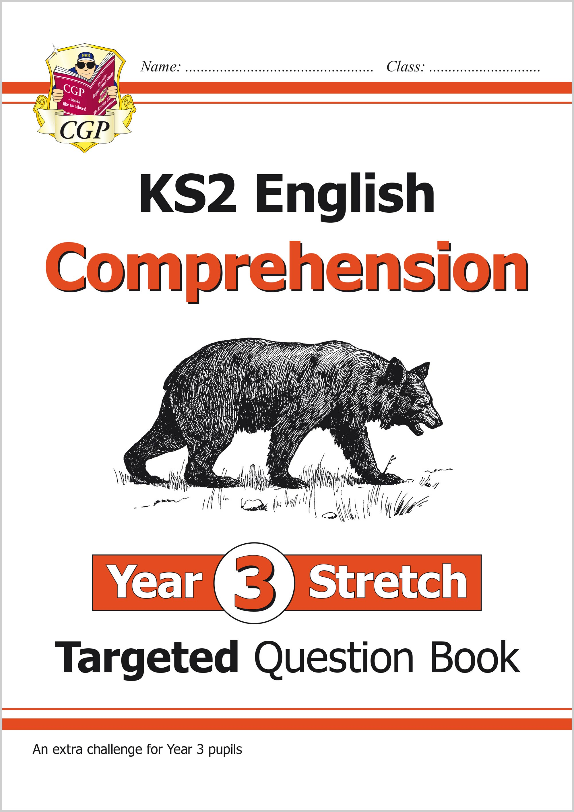 E3HCW21 - New KS2 English Targeted Question Book: Challenging Comprehension - Year 3 Stretch (with A