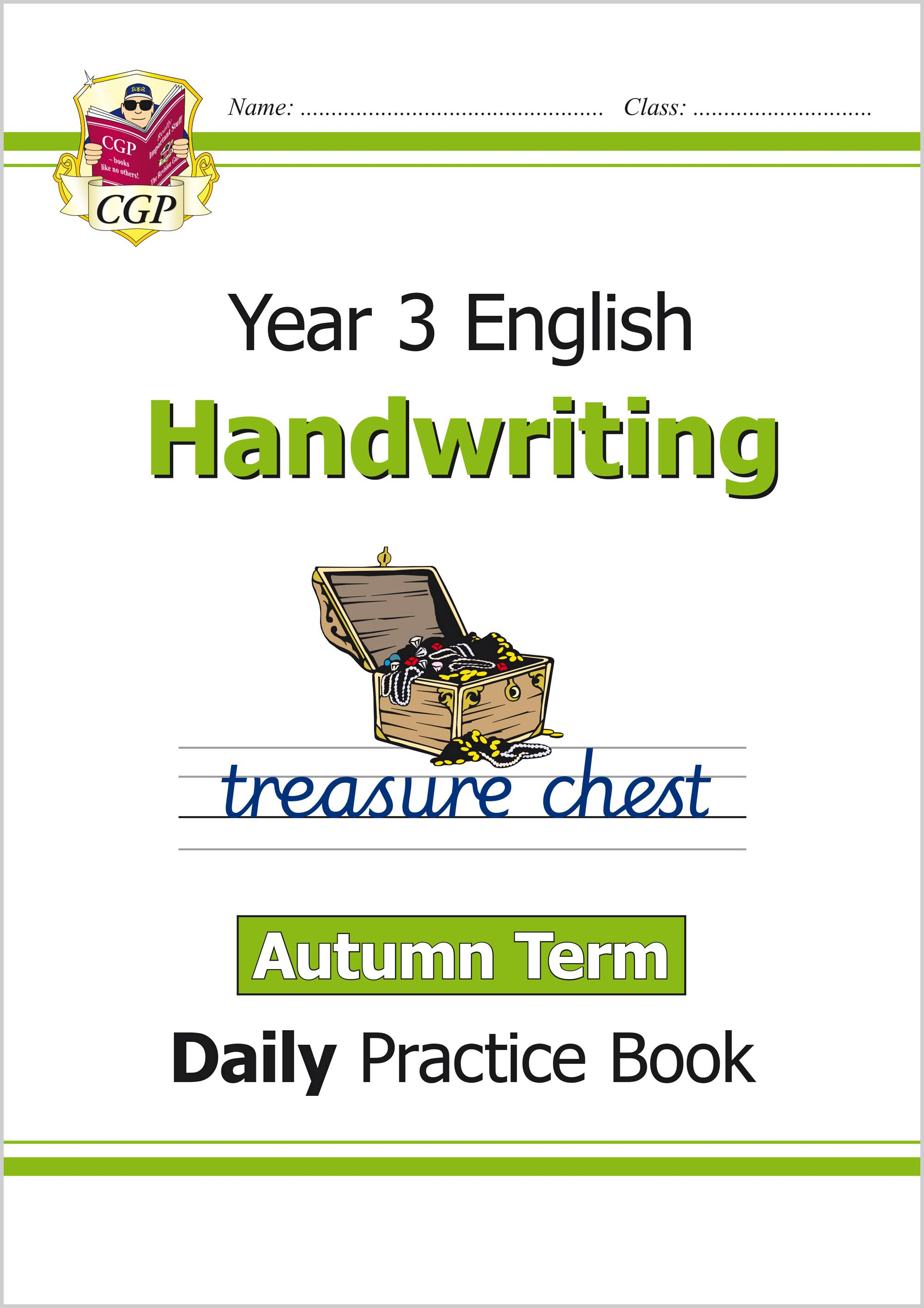 E3HWAU21 - New KS2 Handwriting Daily Practice Book: Year 3 - Autumn Term