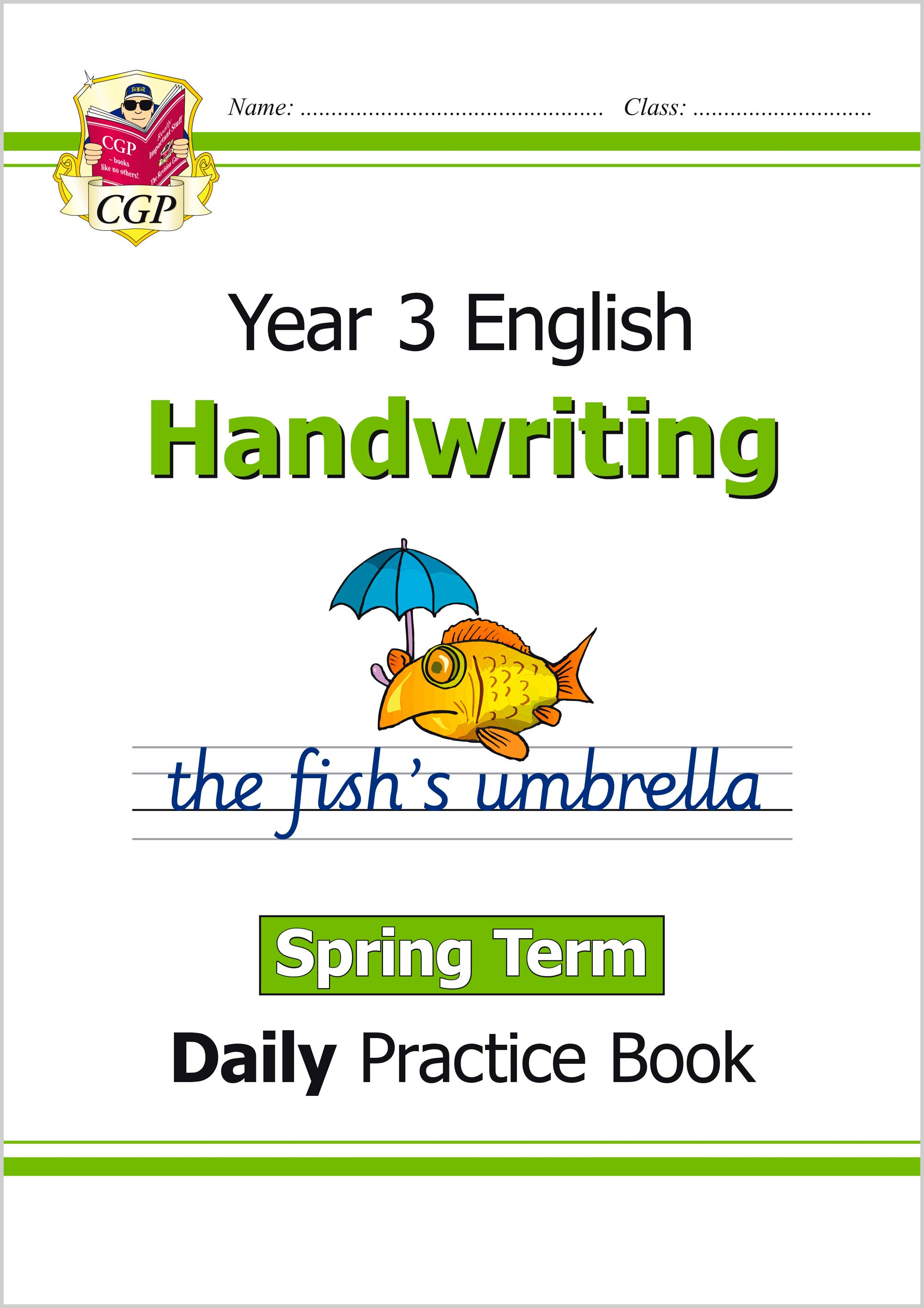 E3HWSP21 - New KS2 Handwriting Daily Practice Book: Year 3 - Spring Term
