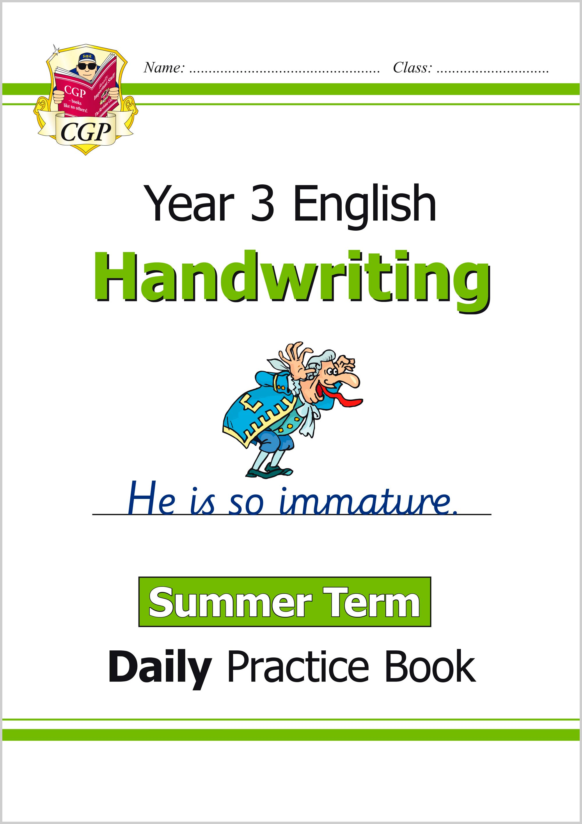 E3HWSU21 - New KS2 Handwriting Daily Practice Book: Year 3 - Summer Term