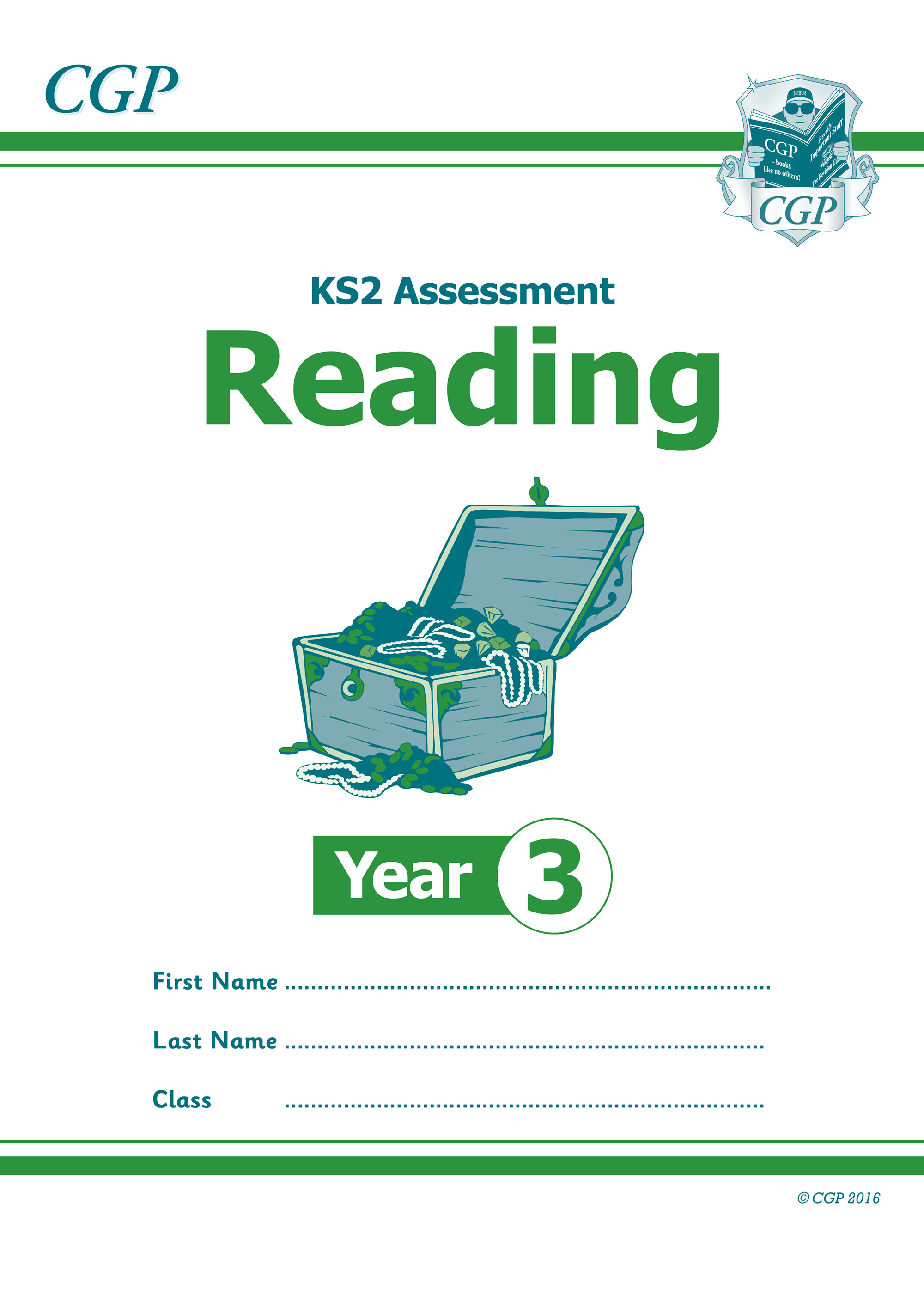 E3RP21 - KS2 Assessment: Reading - Year 3 Test