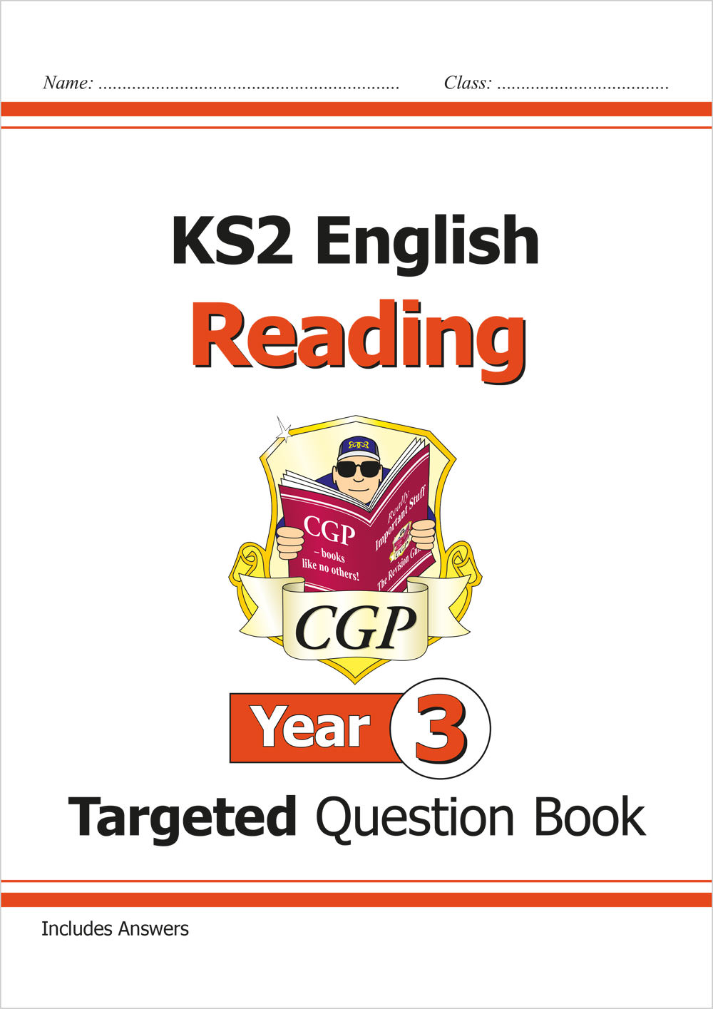 E3RQ21 - New KS2 English Targeted Question Book: Reading - Year 3