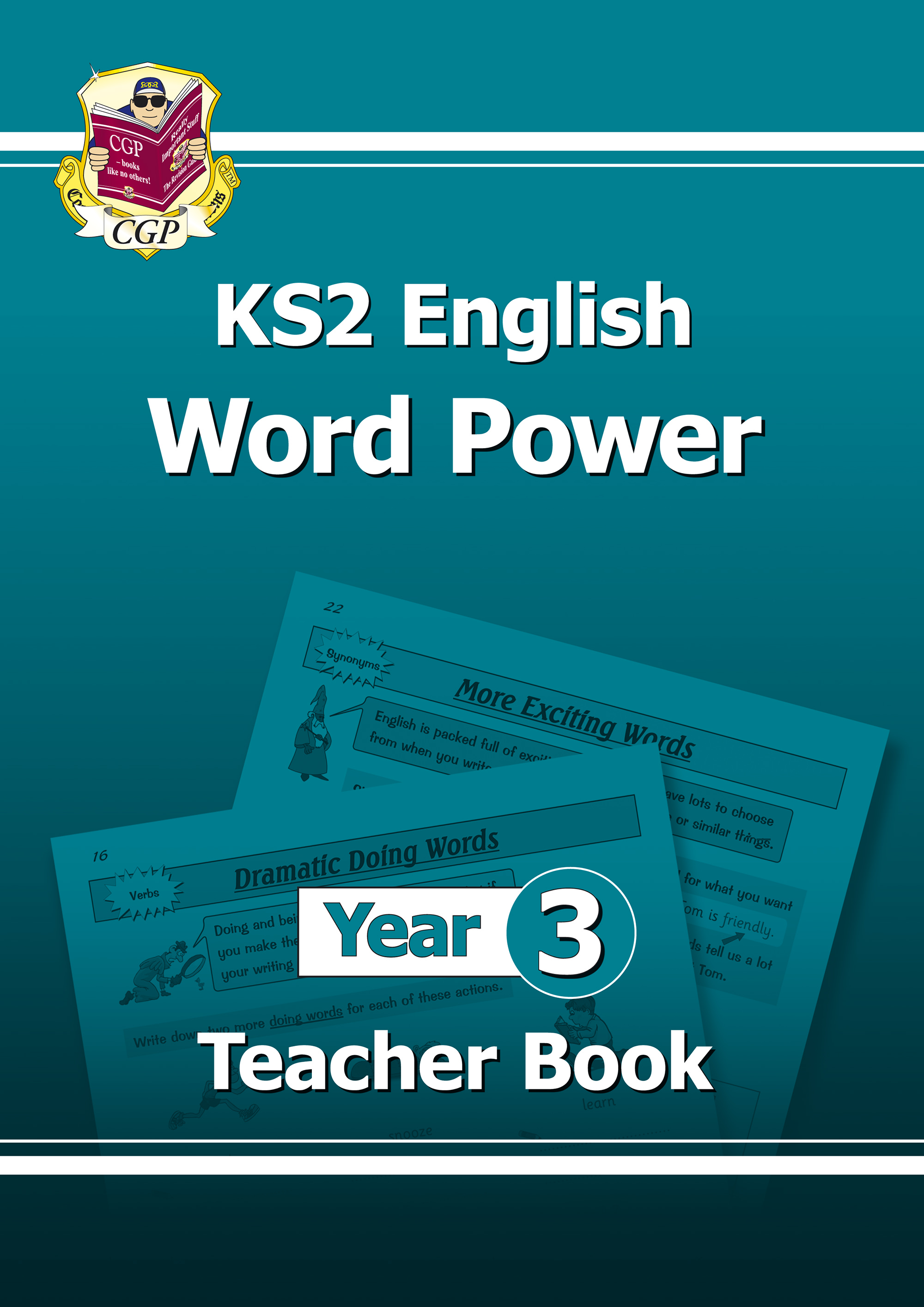 E3WPT21 - KS2 English Word Power: Teacher Book - Year 3