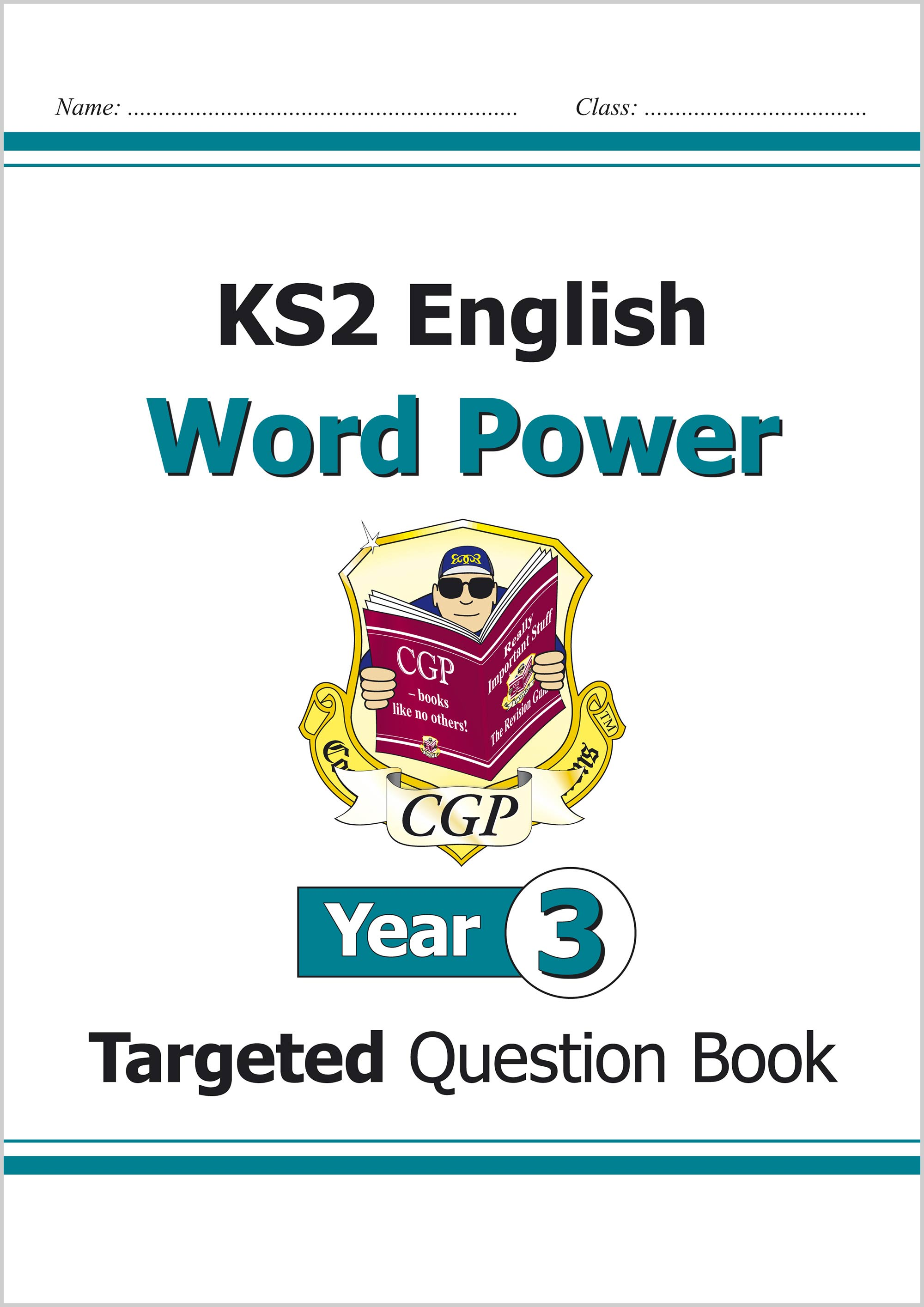 E3WPW21 - KS2 English Targeted Question Book: Word Power - Year 3