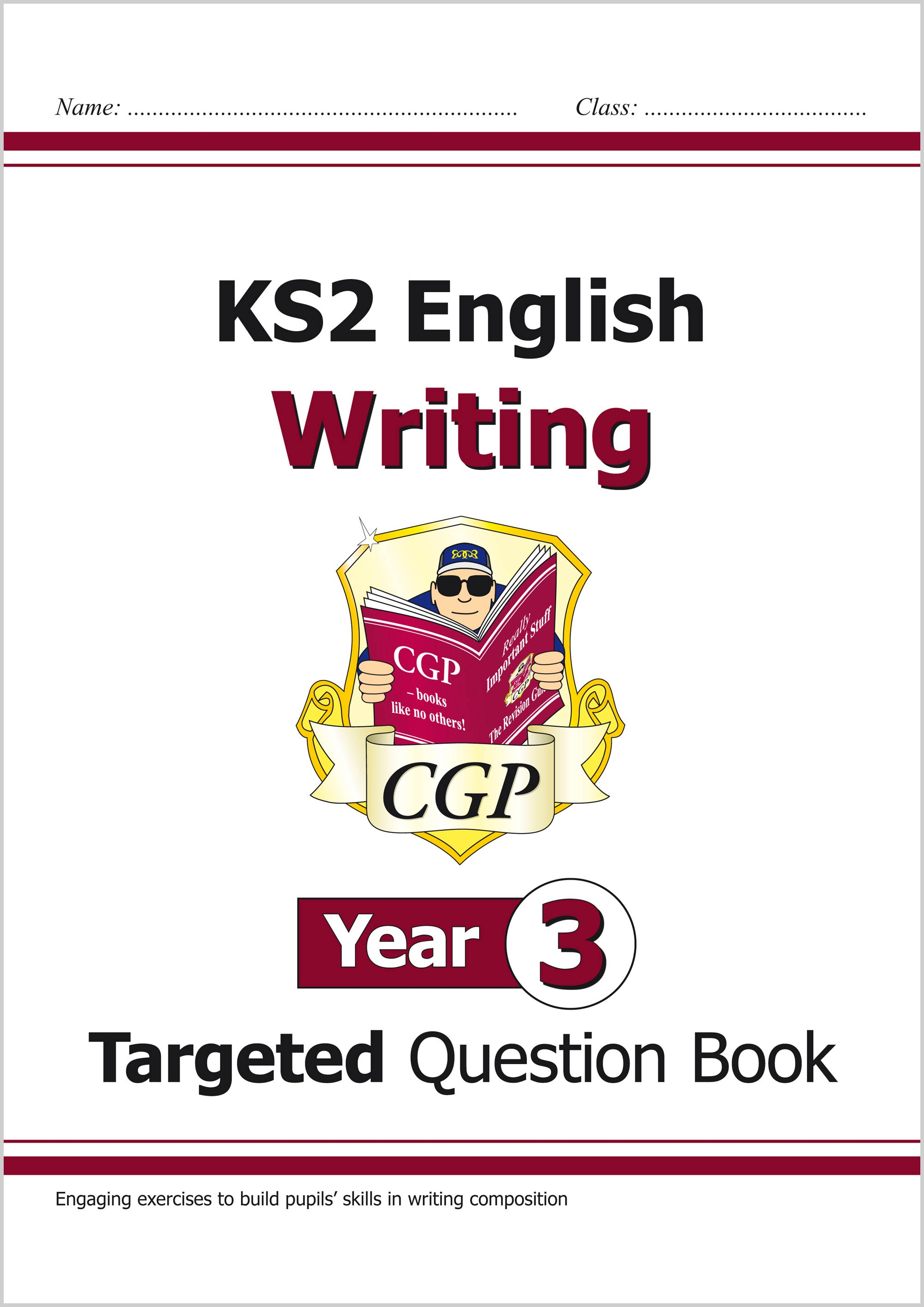 E3WW21 - New KS2 English Writing Targeted Question Book - Year 3