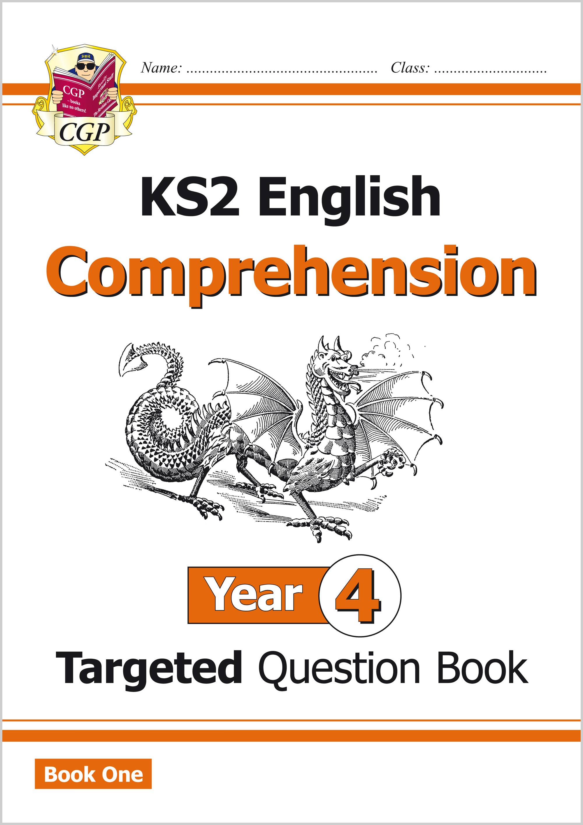 E4CW21 - New KS2 English Targeted Question Book: Year 4 Comprehension - Book 1