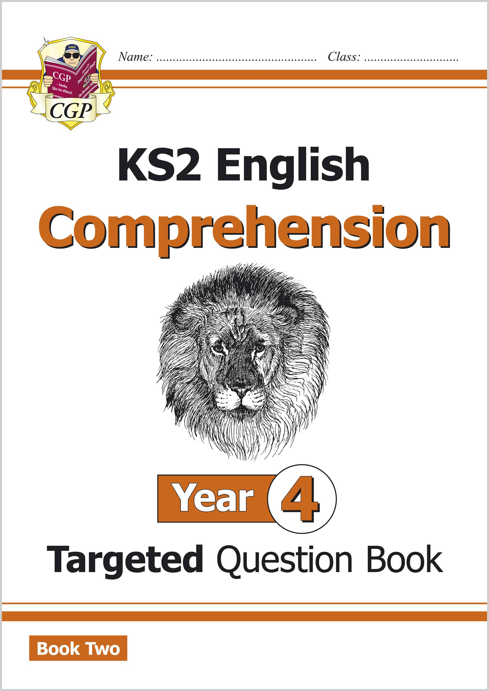 E4CW221 - New KS2 English Targeted Question Book: Year 4 Comprehension - Book 2