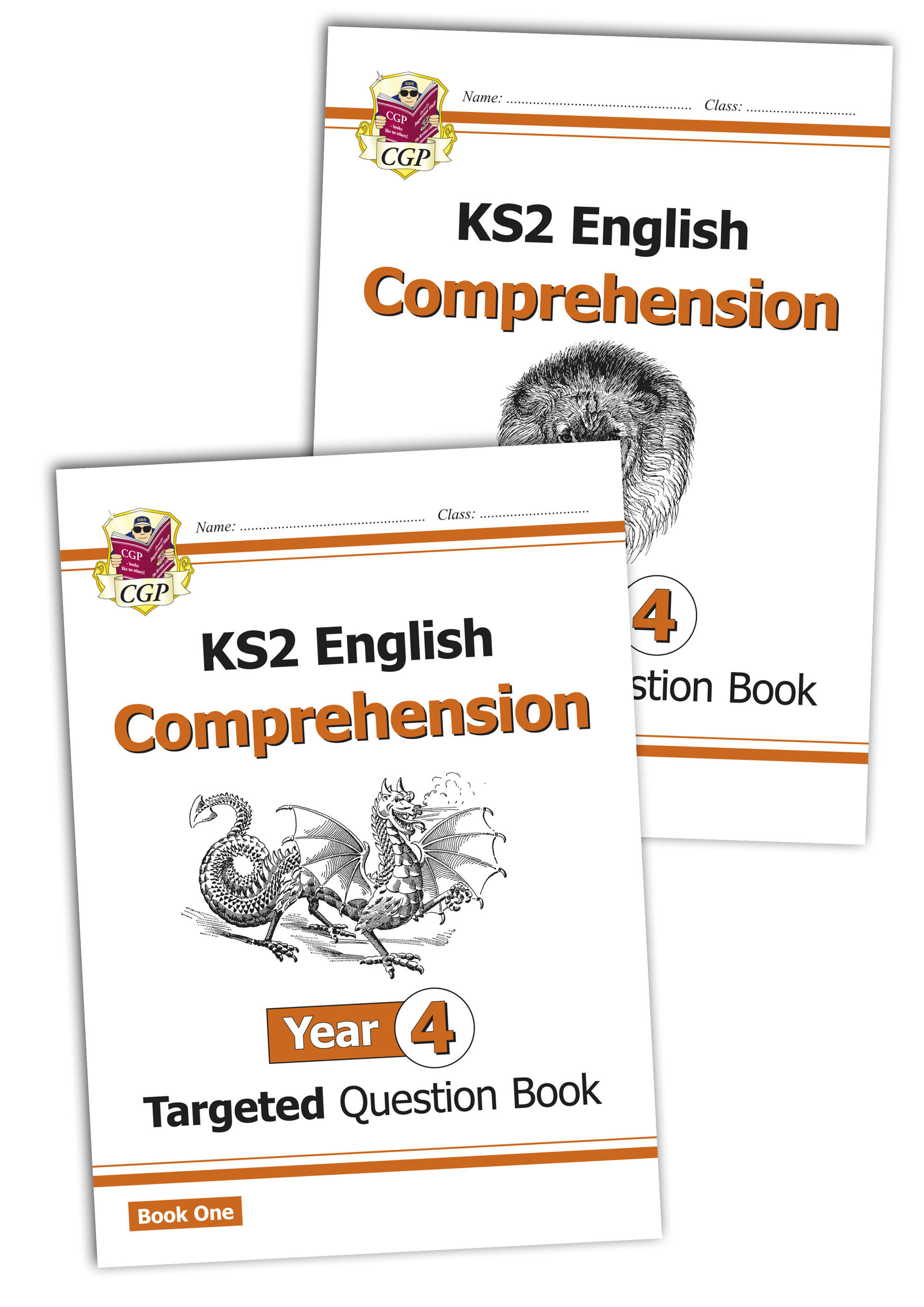 E4CWB21 - KS2 English Targeted Question Book: Year 4 Comprehension - Book 1 & 2 Bundle