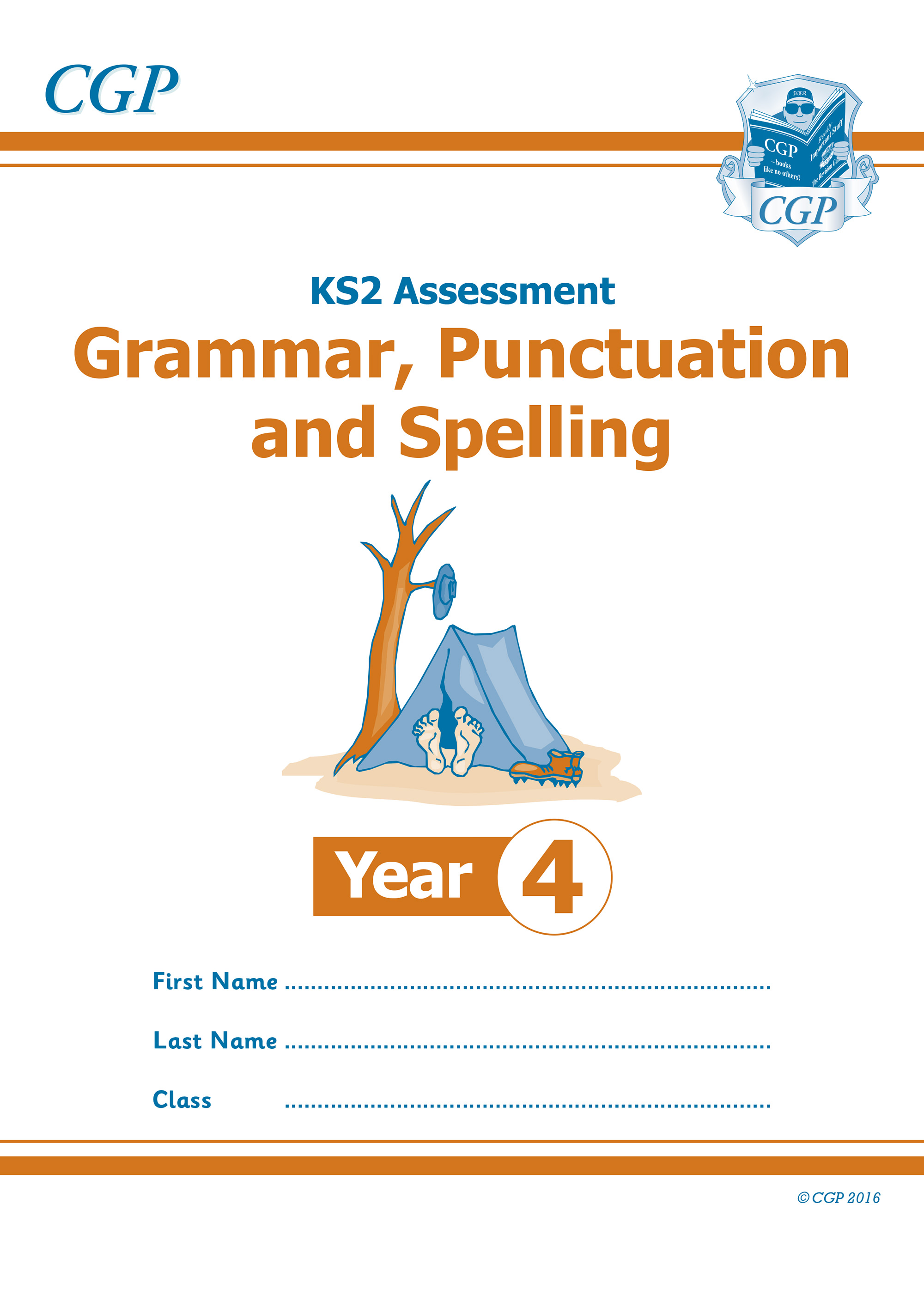 E4GP21 - KS2 Assessment: Spelling, Punctuation & Grammar - Year 4 Test