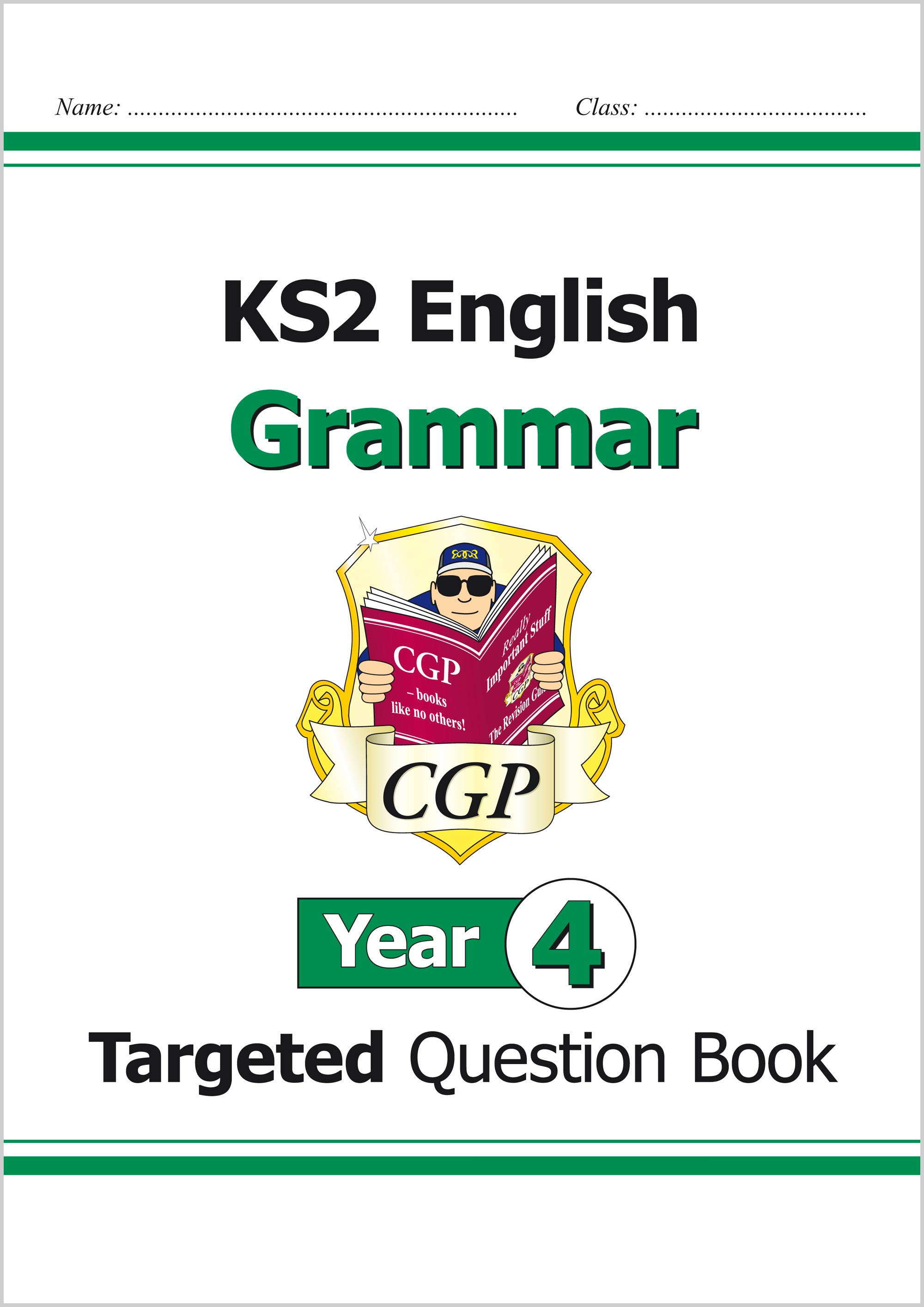 E4GW21 - KS2 English Targeted Question Book: Grammar - Year 4