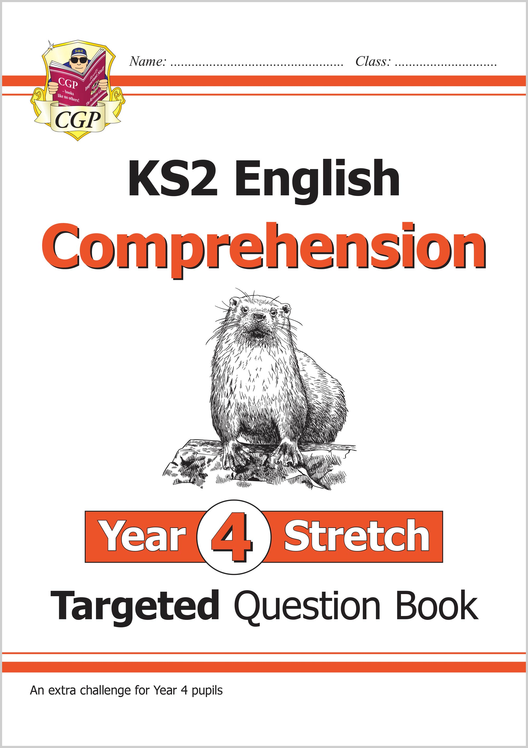 E4HCW21 - New KS2 English Targeted Question Book: Challenging Comprehension - Year 4 Stretch (with A