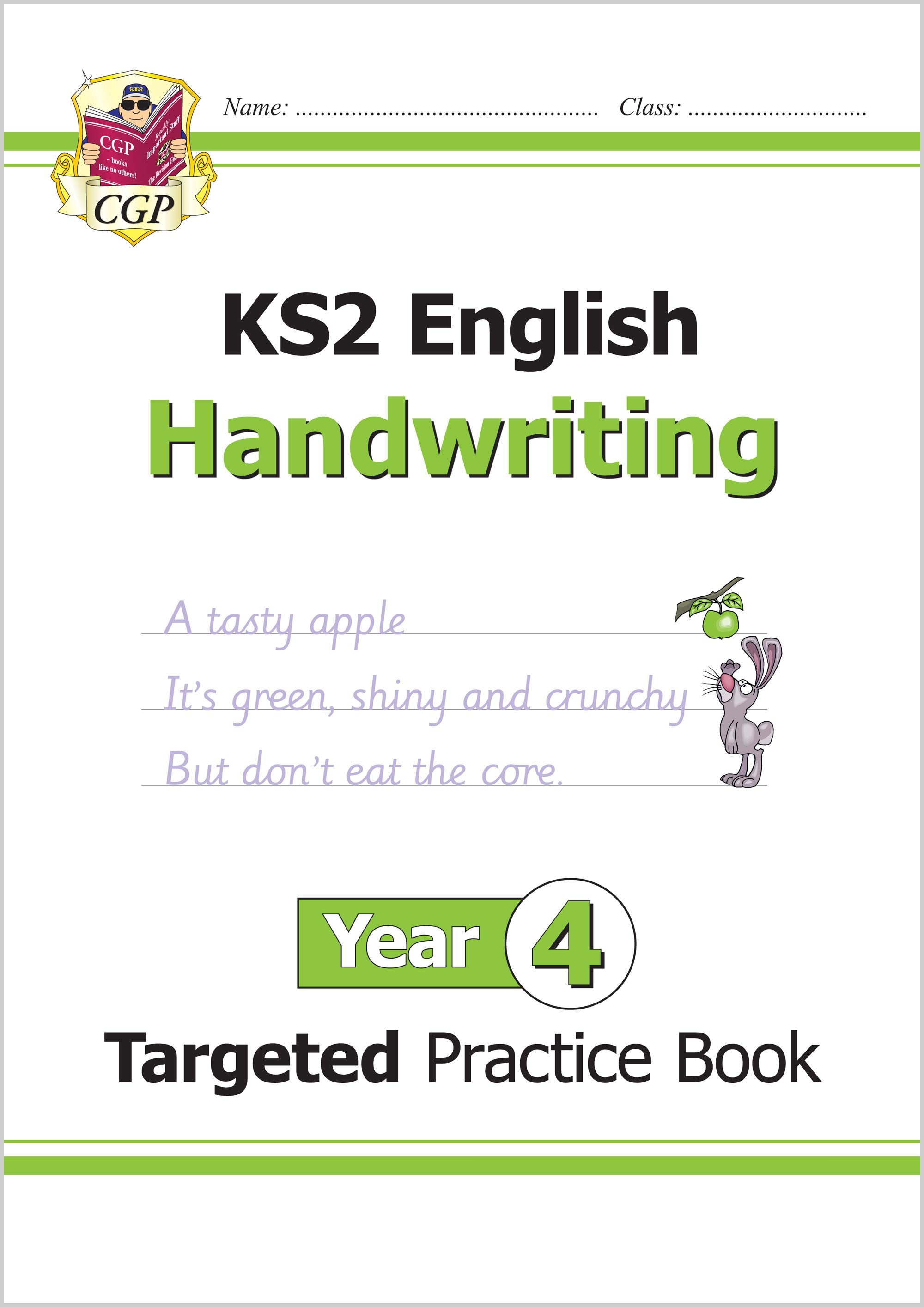 E4HHW22 - KS2 English Targeted Practice Book: Handwriting - Year 4