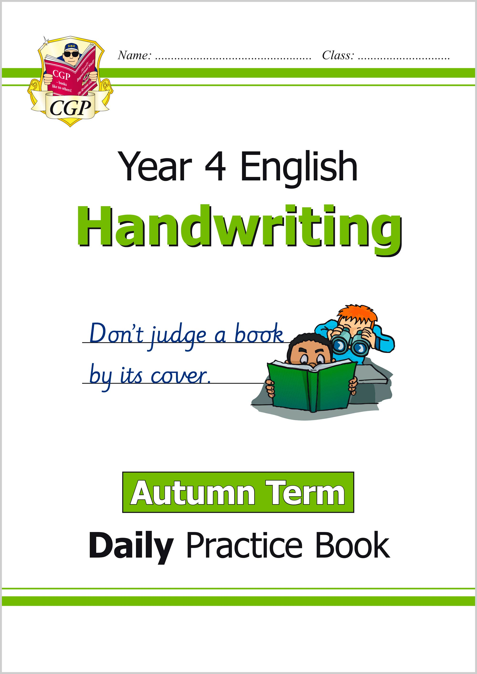 E4HWAU21 - New KS2 Handwriting Daily Practice Book: Year 4 - Autumn Term