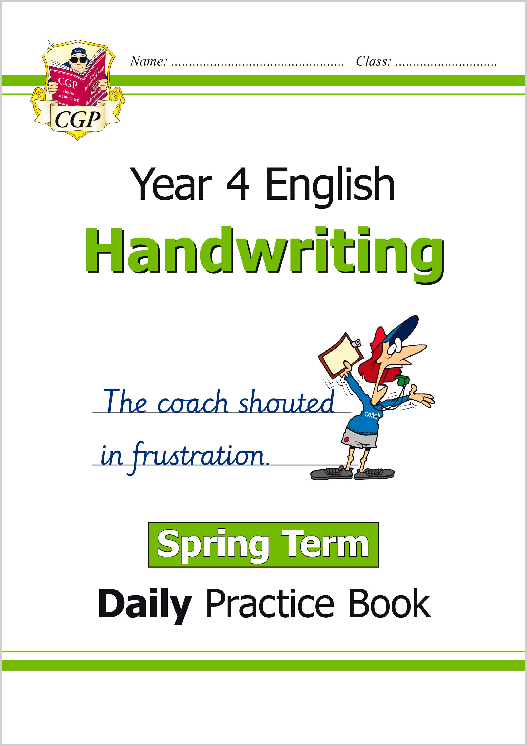 E4HWSP21 - New KS2 Handwriting Daily Practice Book: Year 4 - Spring Term