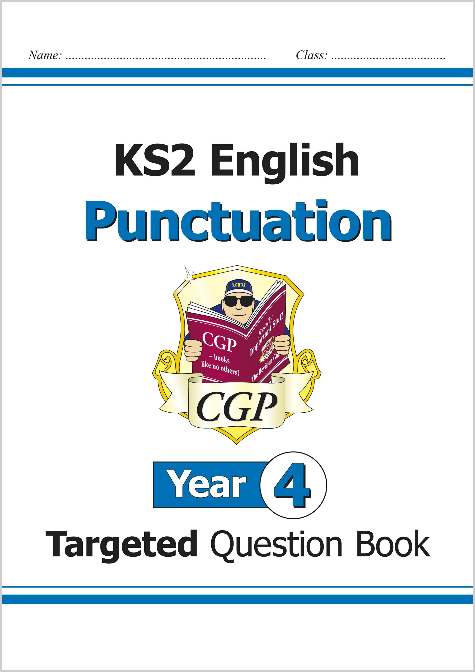 E4PW21 - KS2 English Targeted Question Book: Punctuation - Year 4